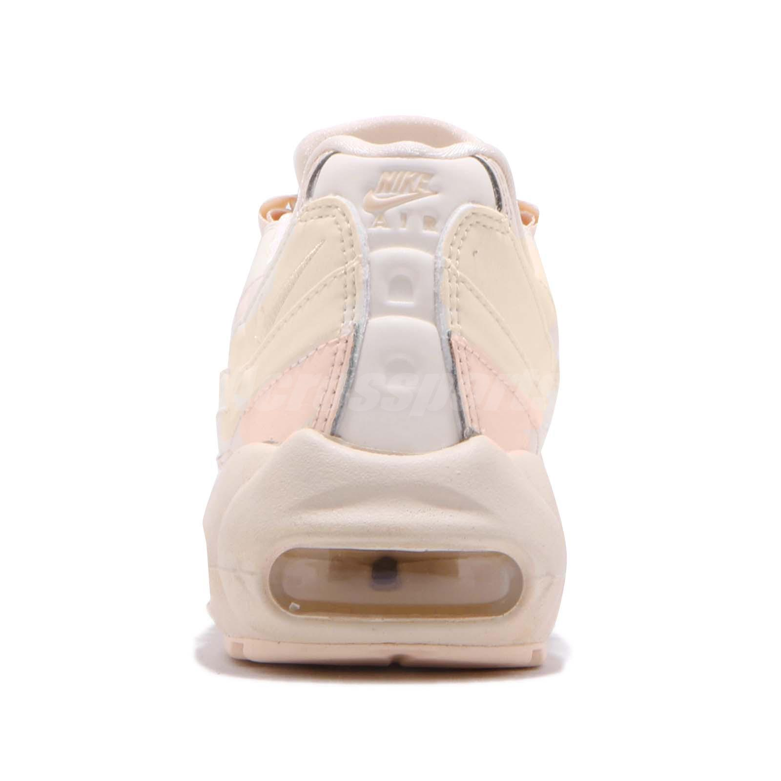 Nike Wmns Air Max 95 LX Lux Reflective Guava Ice Pink Womens