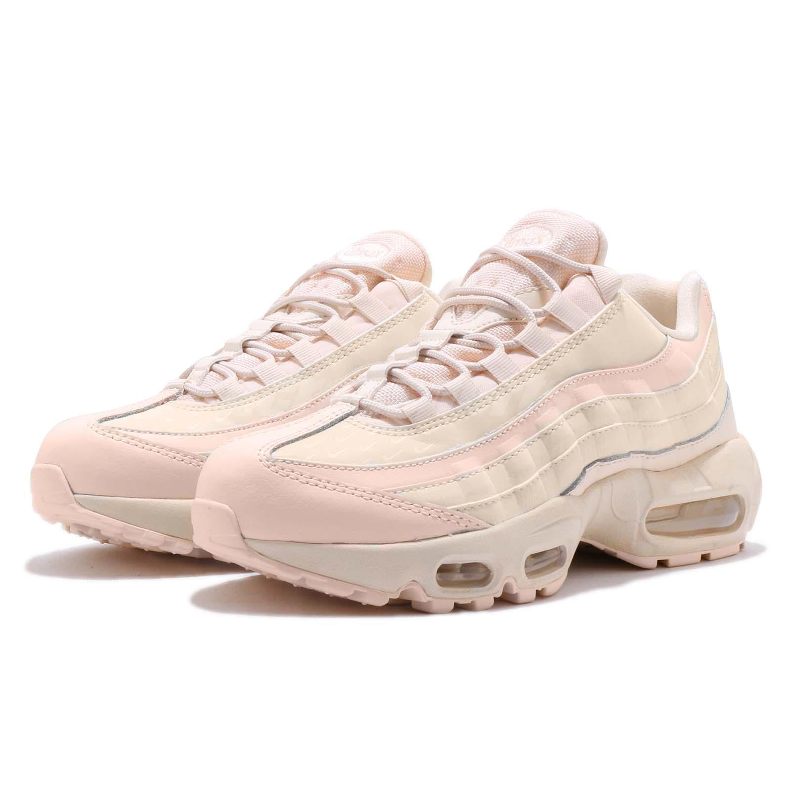 Details about Nike Wmns Air Max 95 LX Lux Reflective Guava Ice Pink Womens Shoes AA1103 800