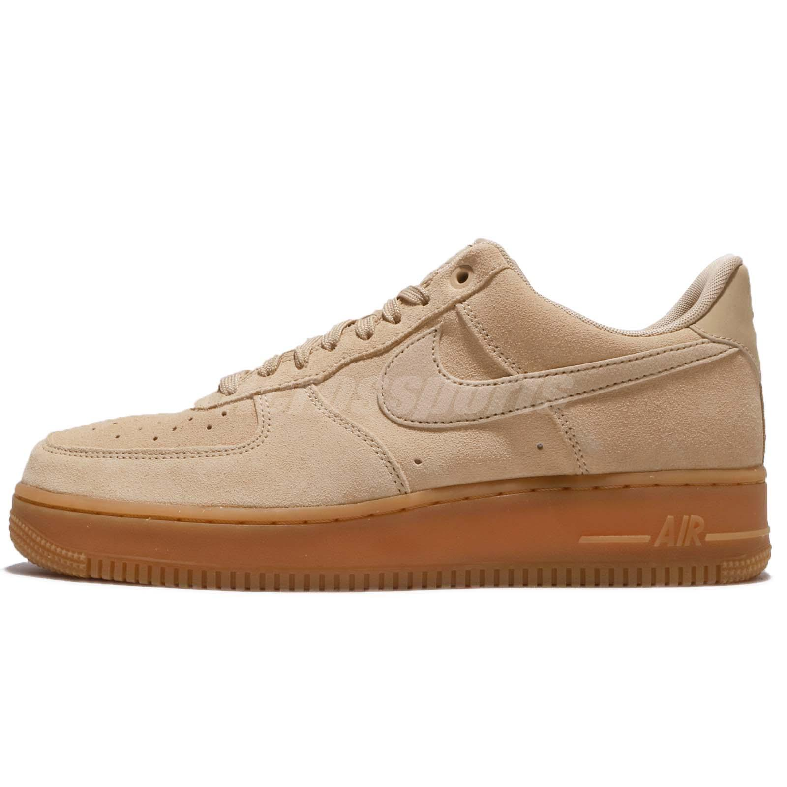 nike air force 1 07 lv8 suede mushroom suede men shoes af1 sneakers aa1117 200 ebay. Black Bedroom Furniture Sets. Home Design Ideas