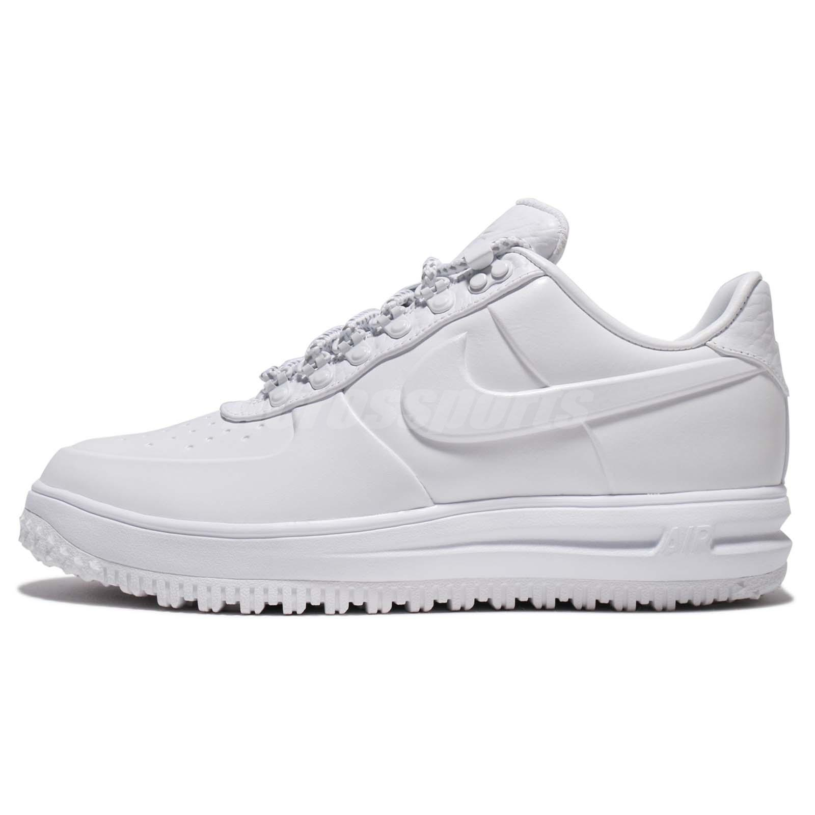 buy online 5ba5e 47b66 Nike LF1 Low PRM Lunar Force 1 Snow Pack White Men Winter Duckboot  AA1124-100