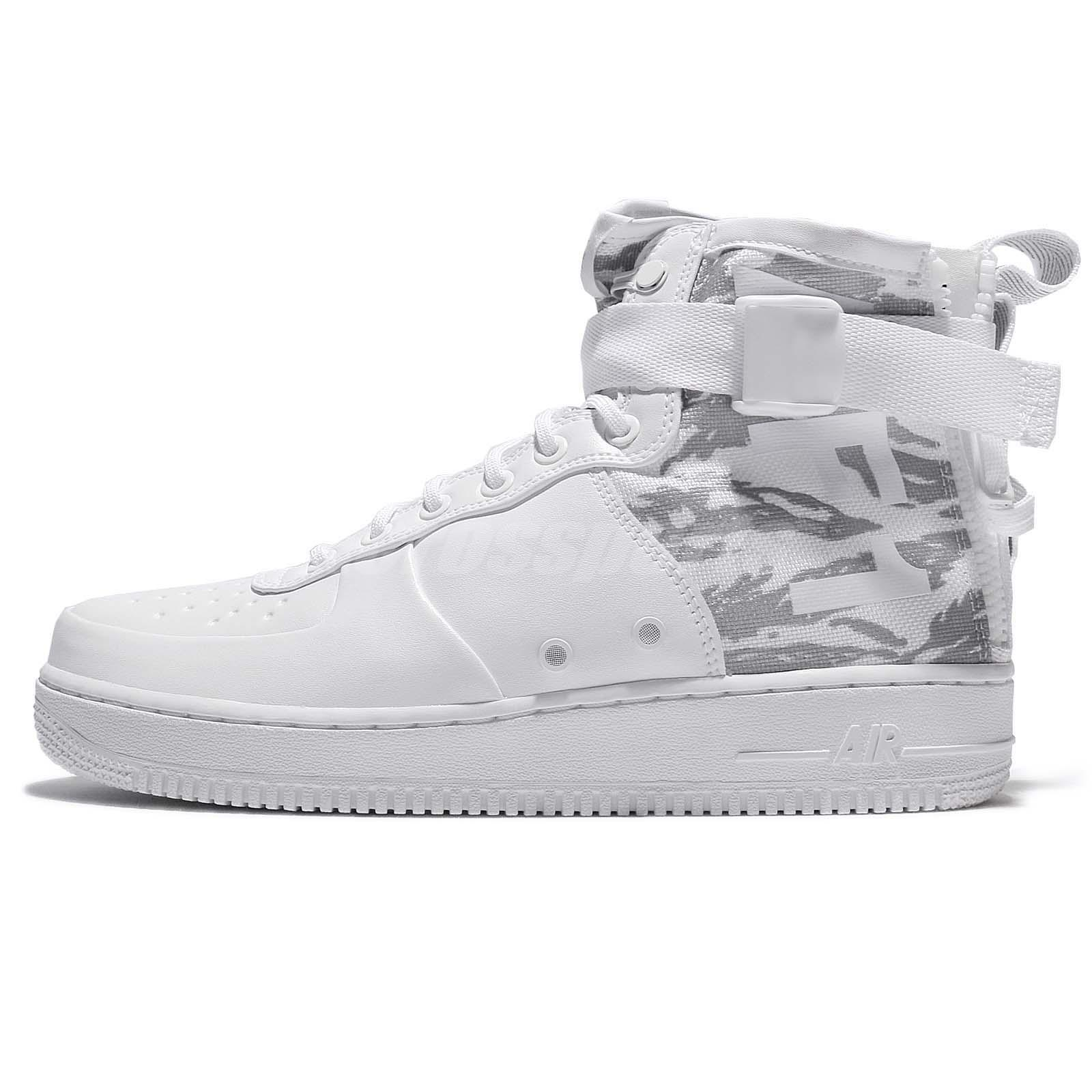 Nike SF AF1 Mid PRM Special Field Blanco Force Snow Camo Hombre Air Force Blanco 1 066151