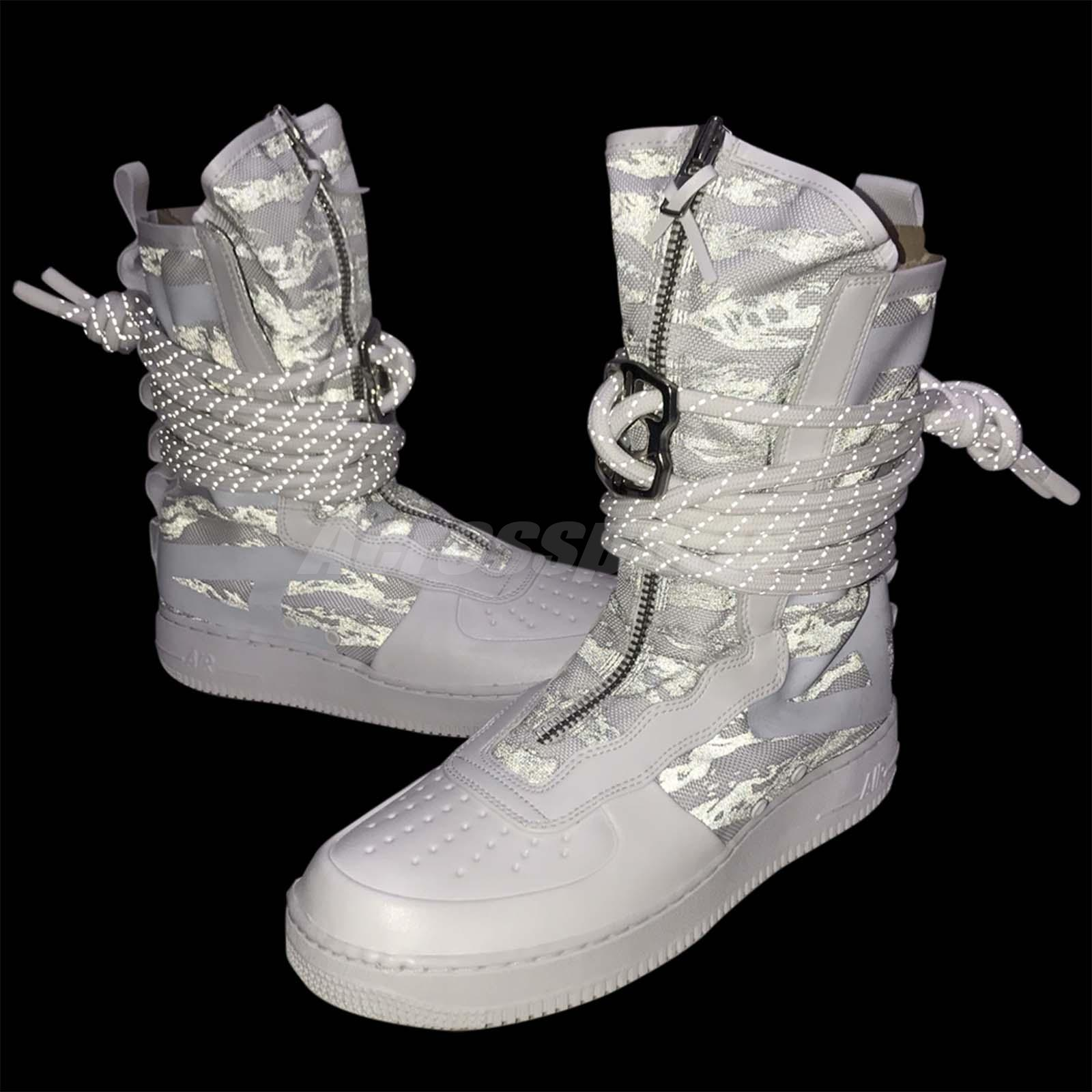 Nike SF AF1 HI PRM IBEX White Camo High Special Field Air Force 1 ... c6fedeb9b53df