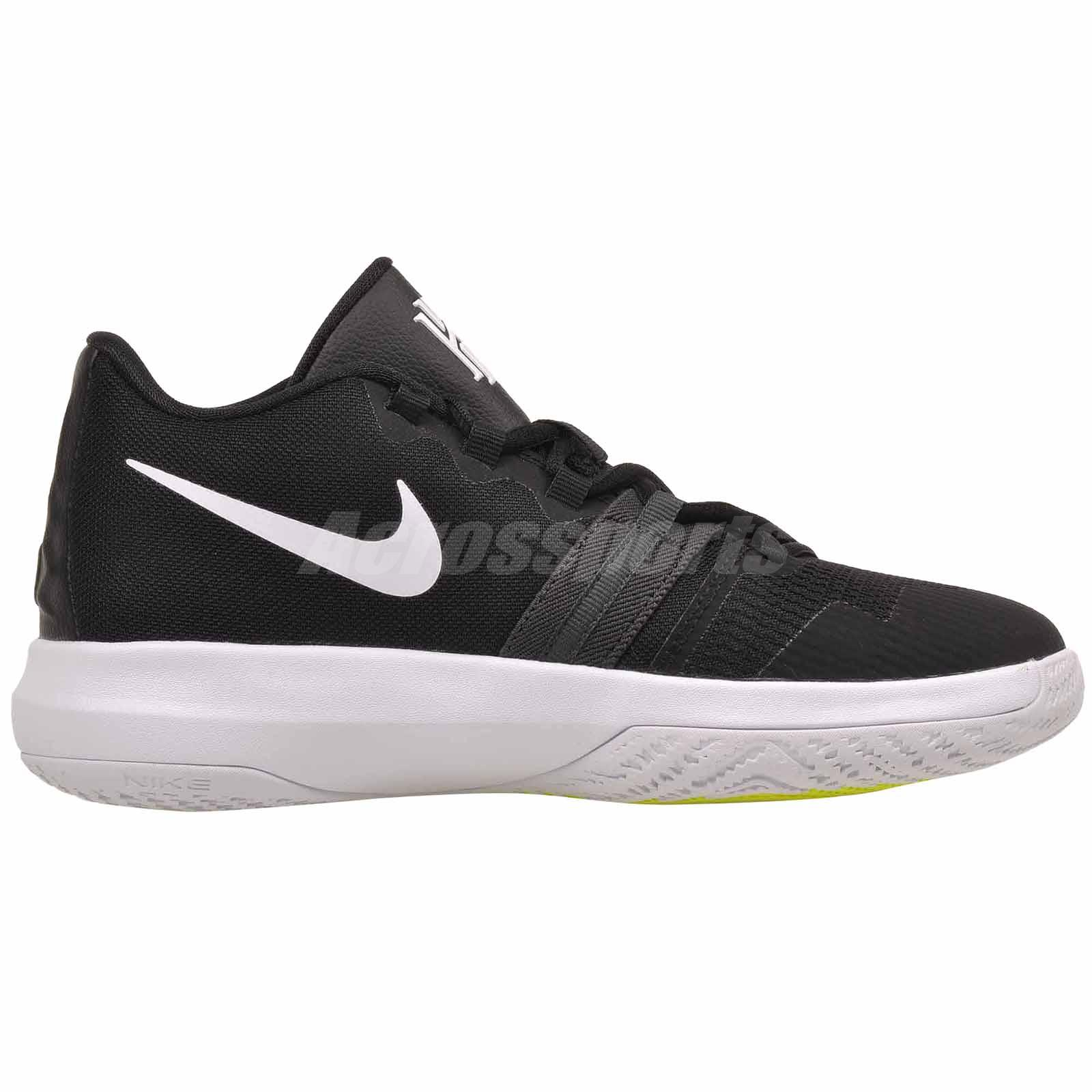 45cc9c0c551 Nike Kyrie Flytrap GS Basketball Kids Youth Shoes Black White AA1154 ...