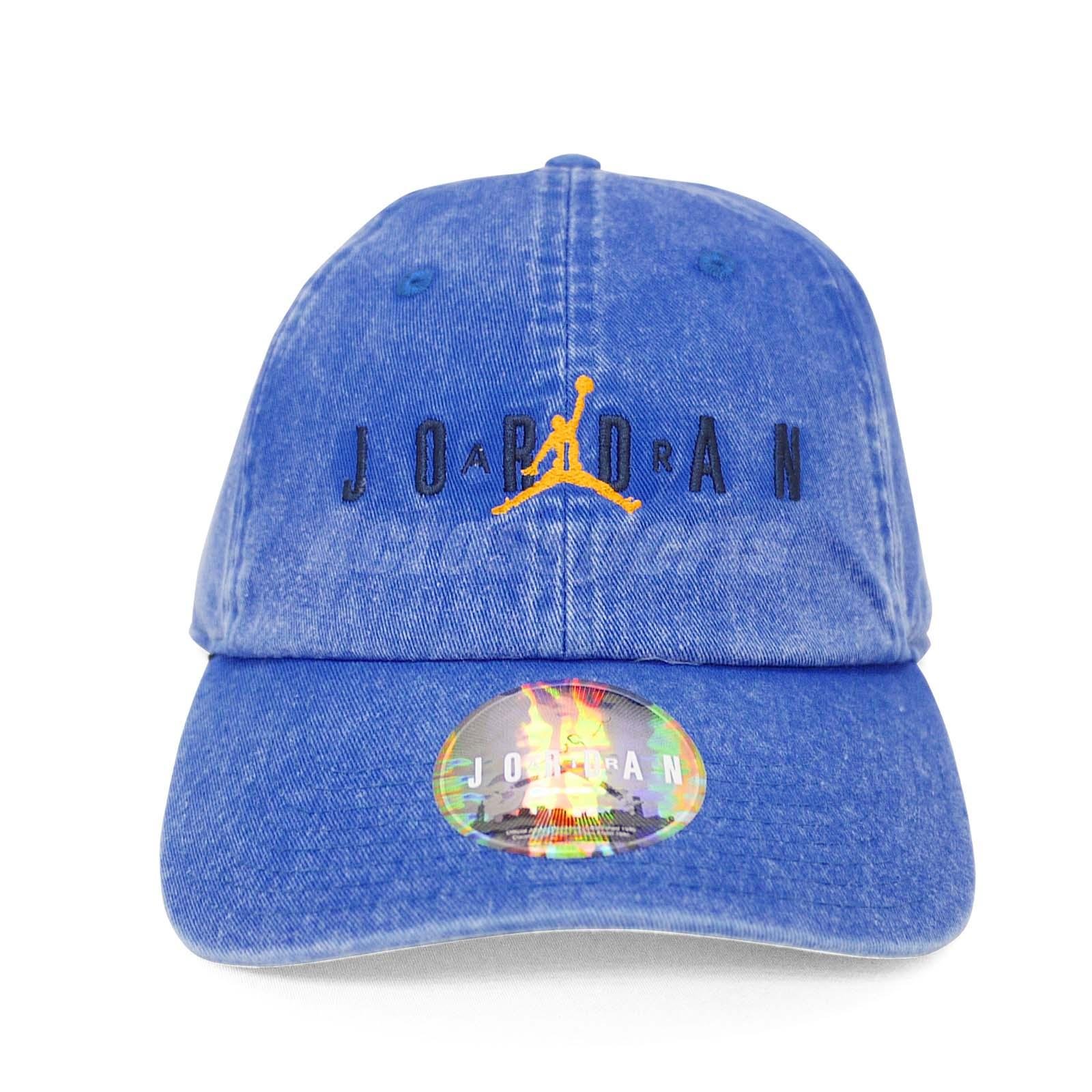 c48d4c4385db Nike Jordan Heritage Jumpman Adjustable Cap Air Hat H86 Washed Blue ...