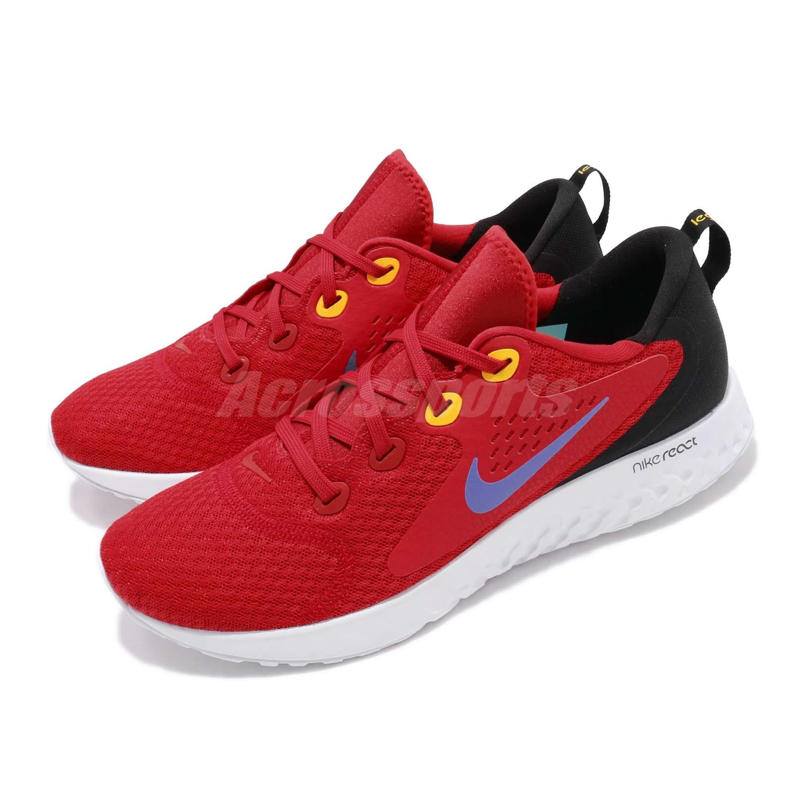 89342a479f07 Details about Nike Legend React Red Hyper Grape White Men Running Shoes  Sneakers AA1625-601