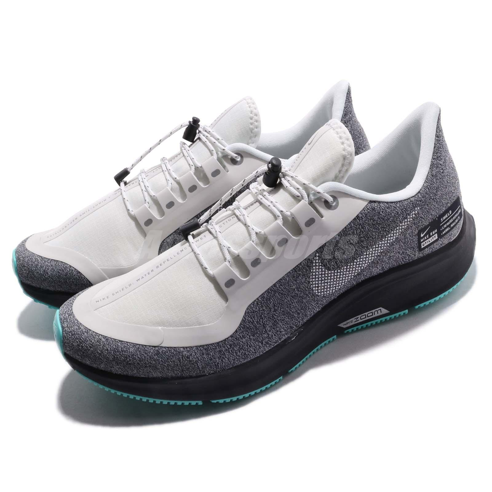 8b3e20ccfe87 Details about Nike Wmns Air Zoom Pegasus 35 RN SHLD White Grey Women Running  Shoes AA1644-100