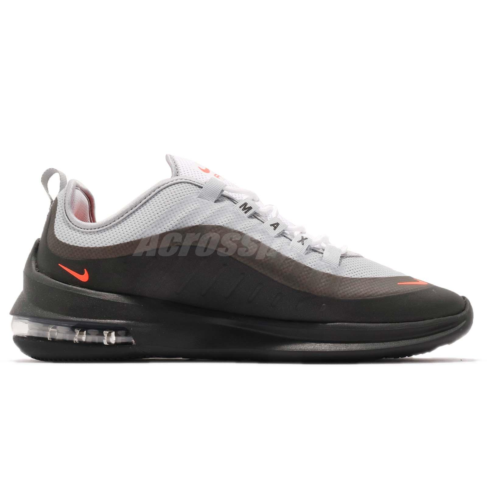 7020c459b0750c Nike Air Max Axis Wolf Grey Crimson Black Men Running Shoes Sneakers ...