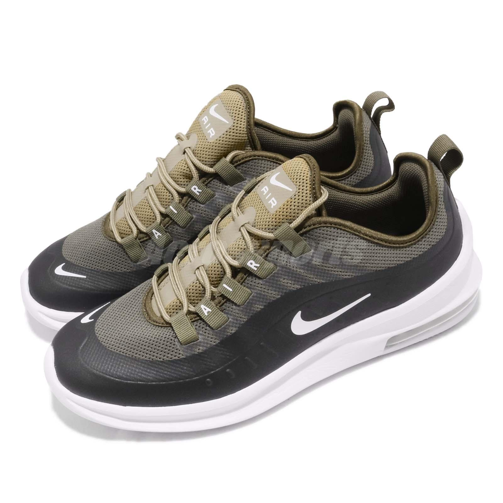 size 40 7cb02 a0f41 Details about Nike Air Max Axis Medium Olive Green White Mens Running Shoes  AA2146-200