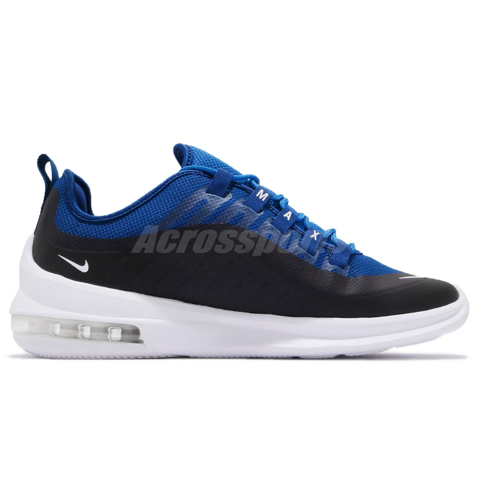4edba3848d8c8 Nike Air Max Axis Black Blue White Men Running Casual Shoes Sneakers ...