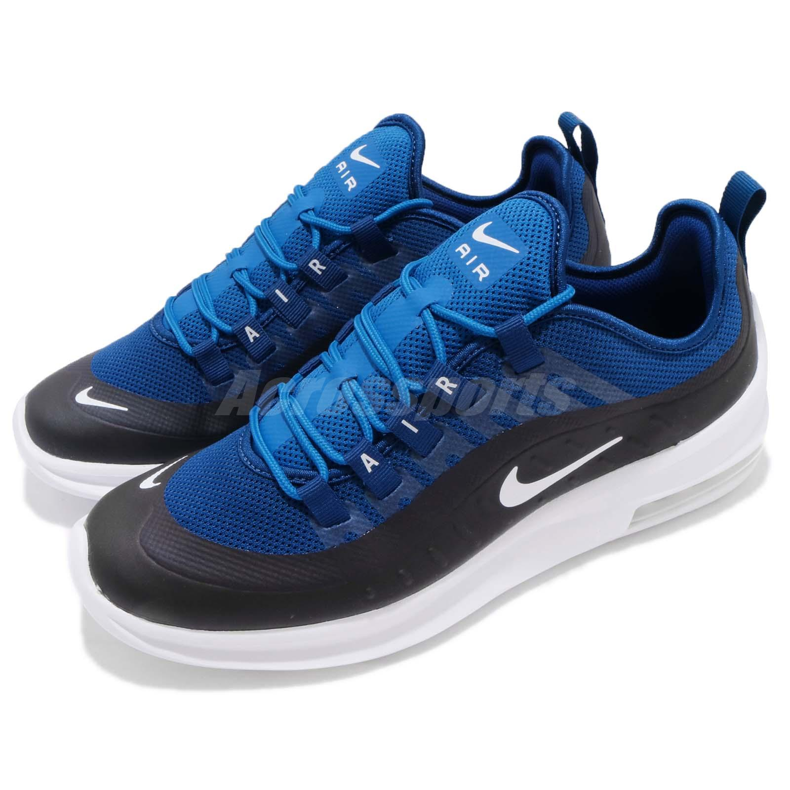 f6943ed3c9dfa Details about Nike Air Max Axis Black Blue White Men Running Casual Shoes  Sneakers AA2146-400