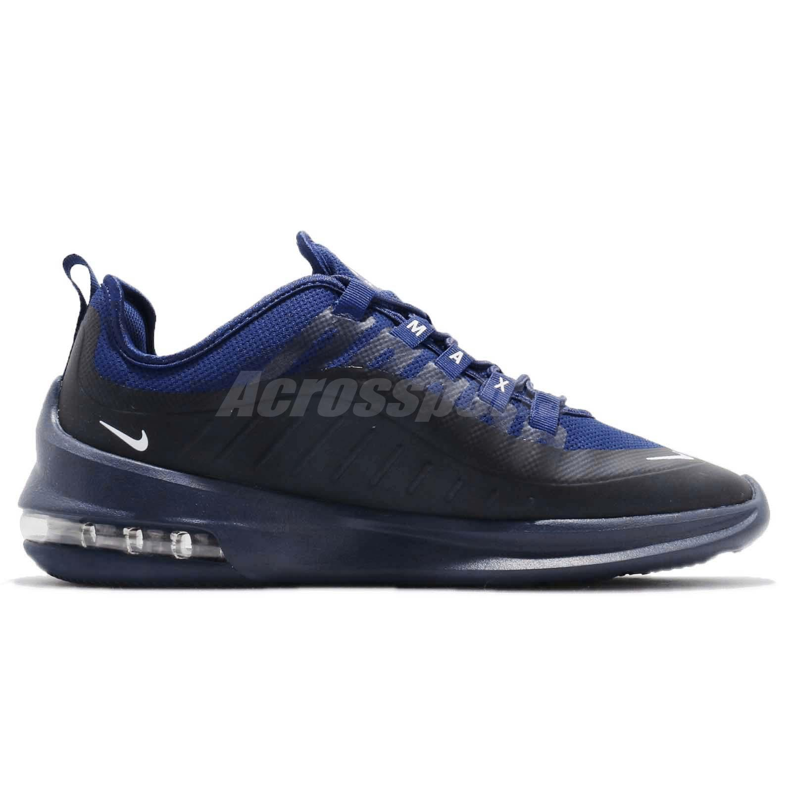 Details about Nike Air Max Axis Deep Royal Blue White Men Running Shoes Sneakers AA2146 401