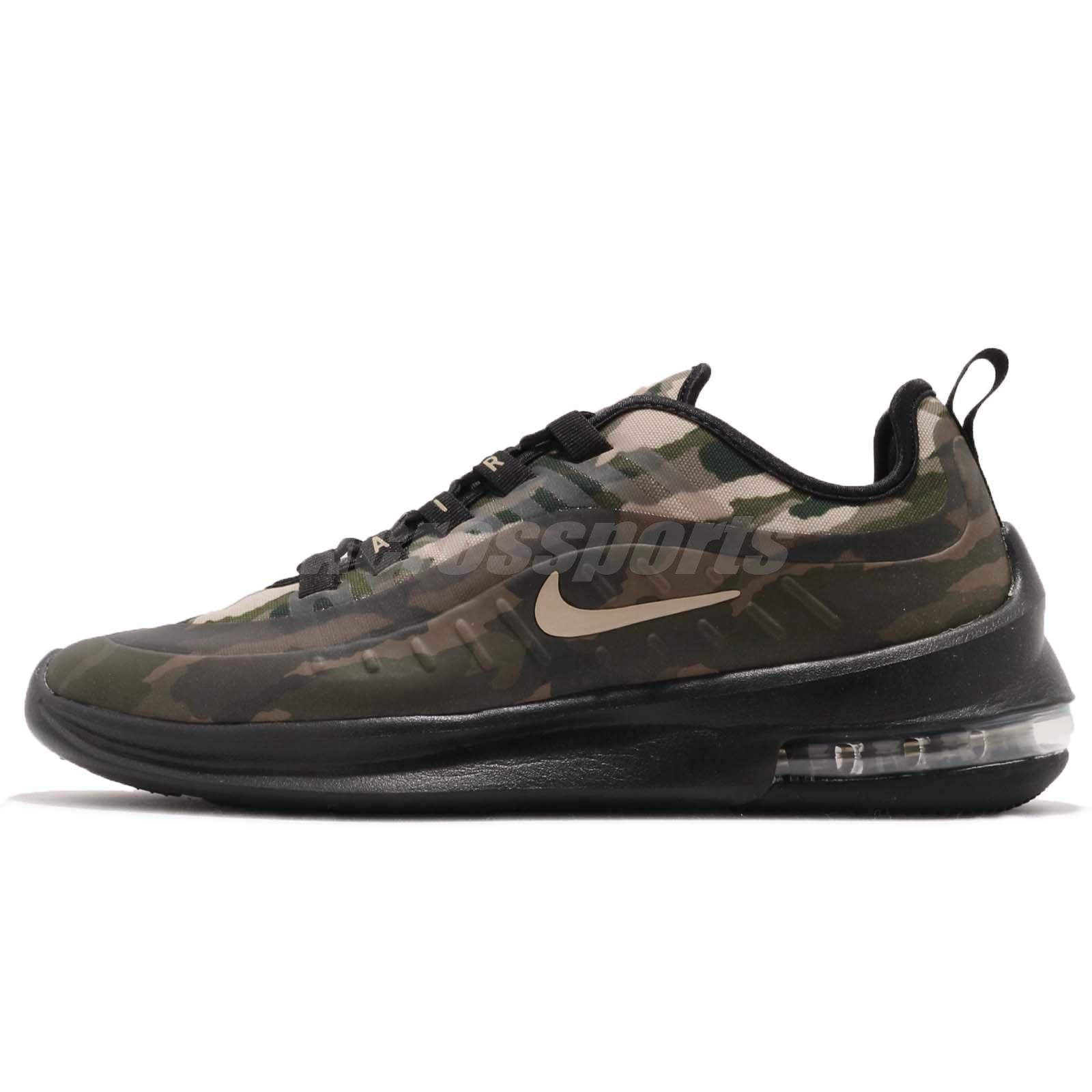 Details about Nike Air Max Axis PREM Black Mushroom Camo Men Running Shoes  Sneakers AA2148-002 cd602637b