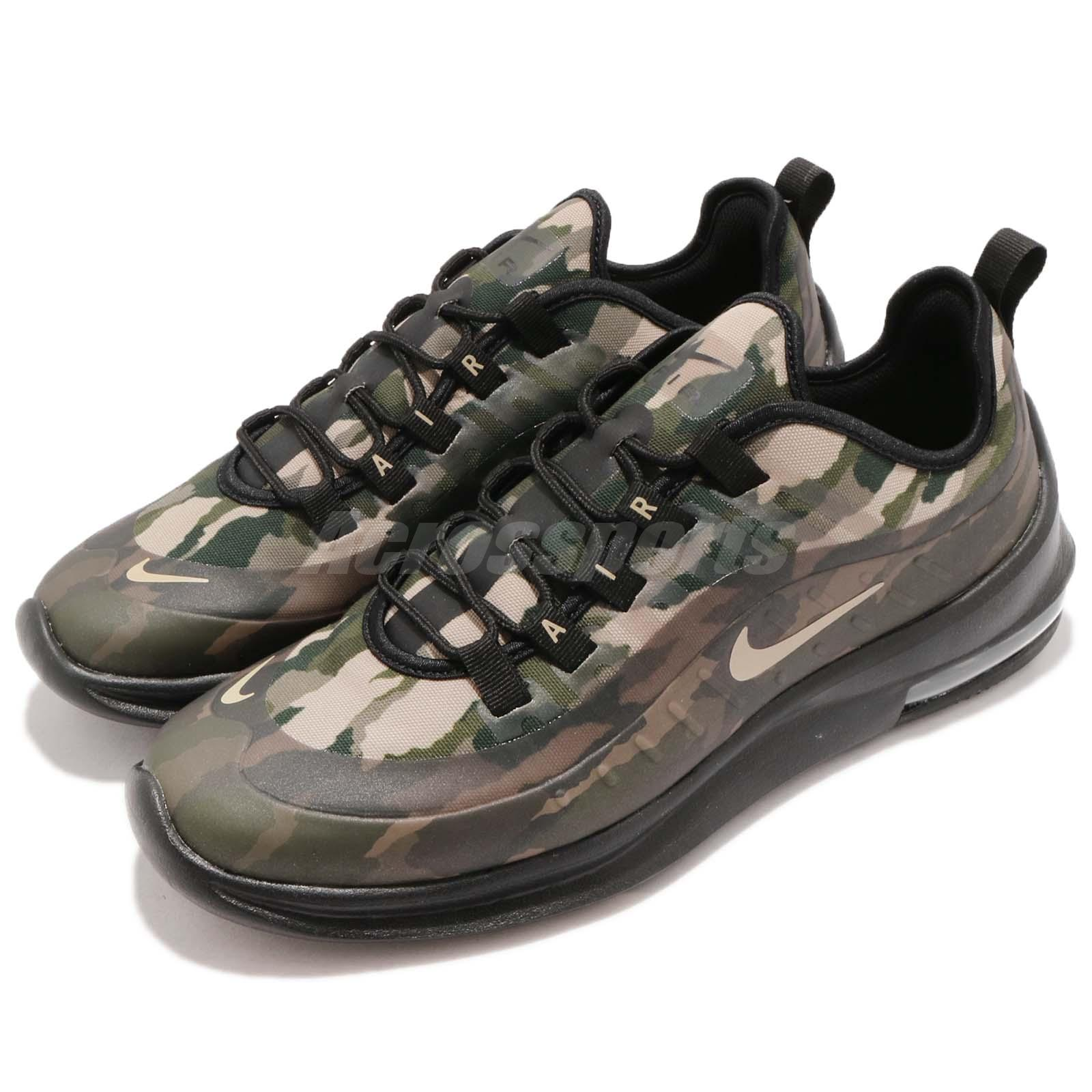 42defa75893d Details about Nike Air Max Axis PREM Black Mushroom Camo Men Running Shoes  Sneakers AA2148-002