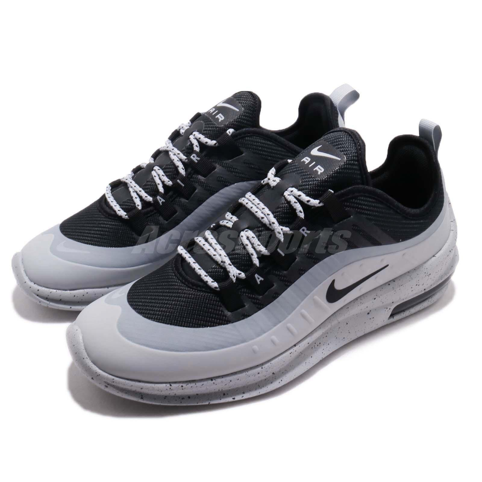 Details about Nike Air Max Axis PREM Black Grey Men Running Casual Shoes Sneakers AA2148 003