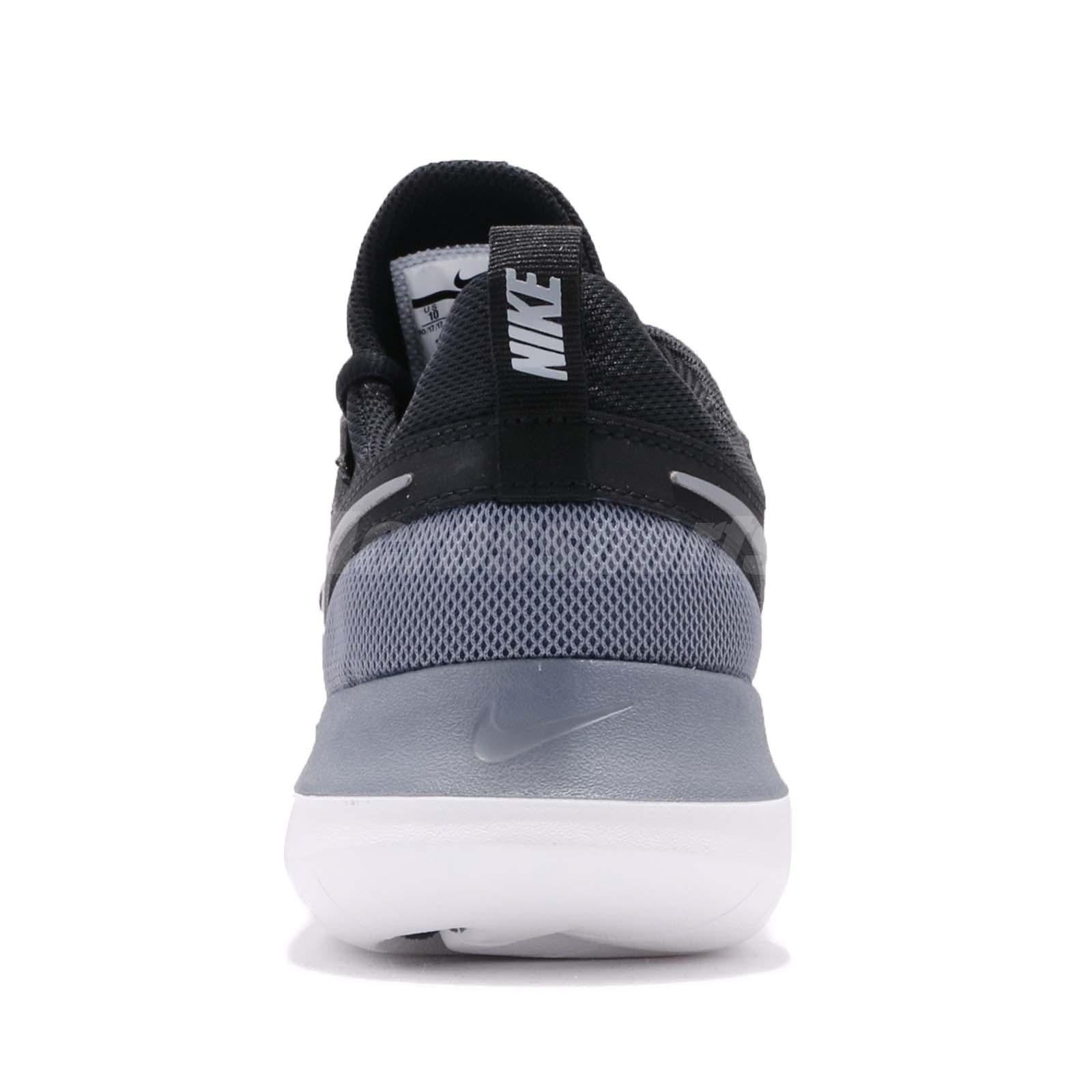 369c8ef1b0d8 Nike Tessen Black Grey White Men Running Casual Shoes Sneakers ...