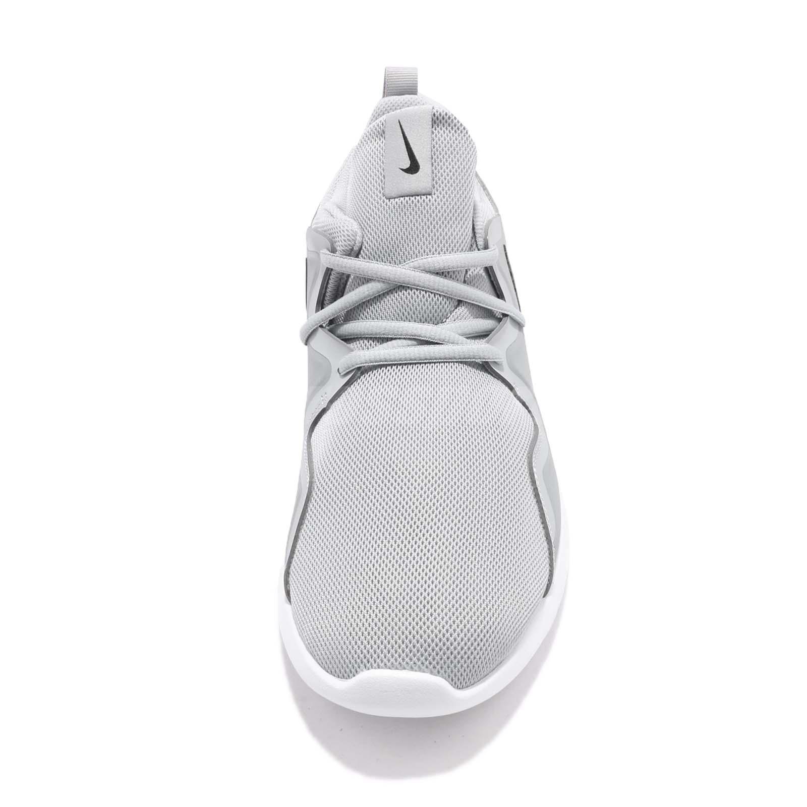 702916ddc39 Nike Tessen Wolf Grey Black White Men Athletic Shoes Sneakers ...
