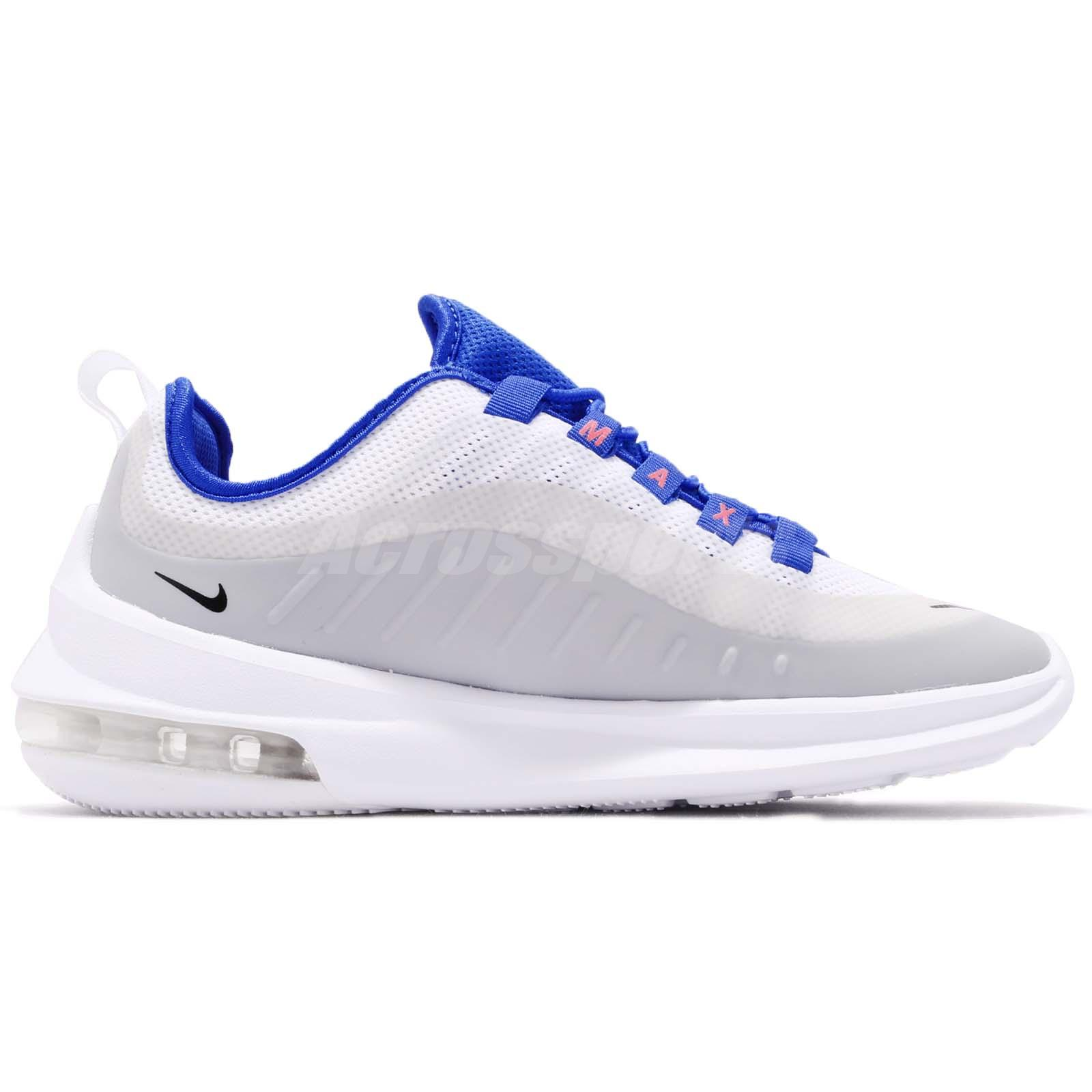 Wmns Nike Air Max Axis White Racer Blue Women Running Shoes Sneakers AA2168-101
