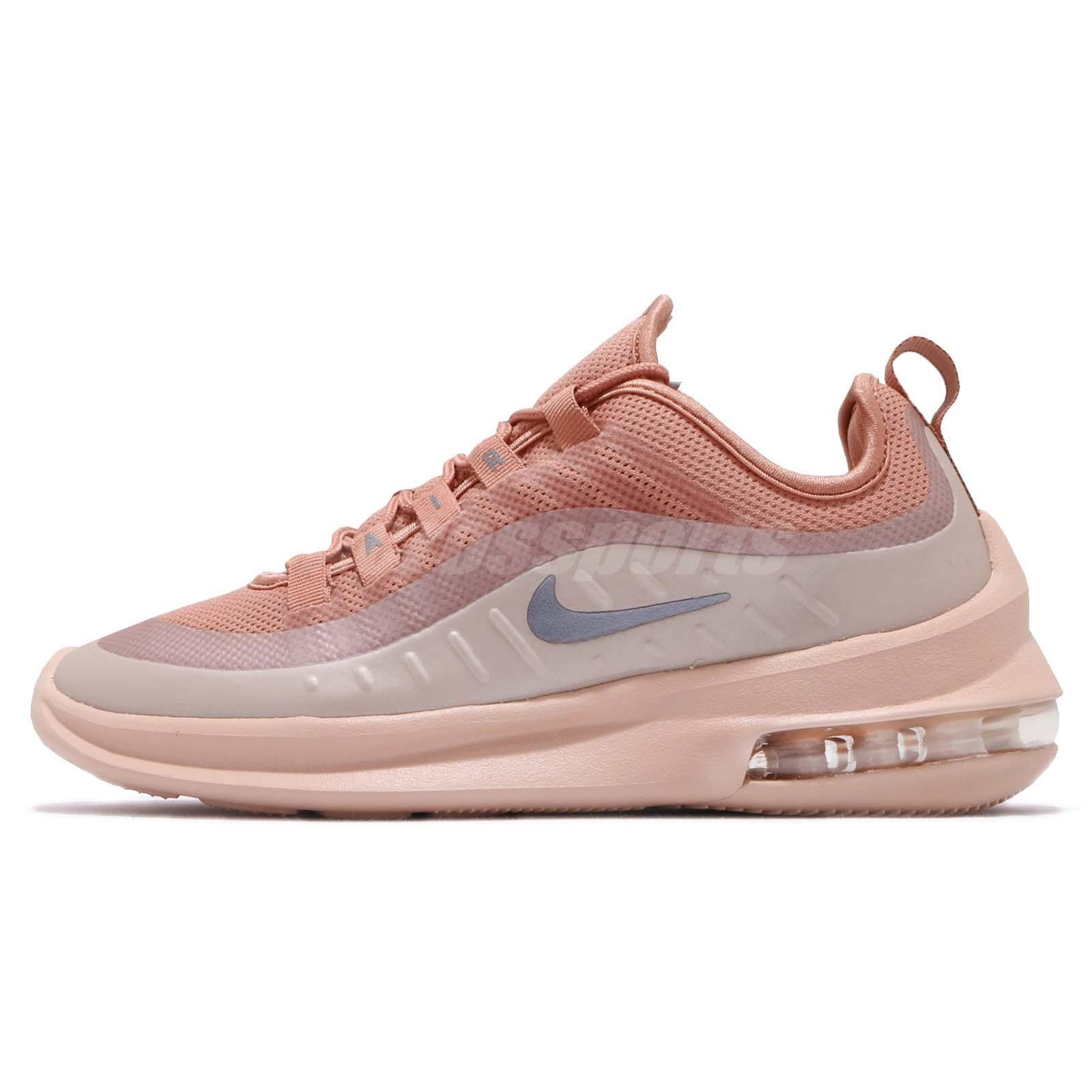 cheaper 83501 ff69b Nike Wmns Air Max Axis Terra Blush Grey Women Running Shoes Sneakers AA2168 -201