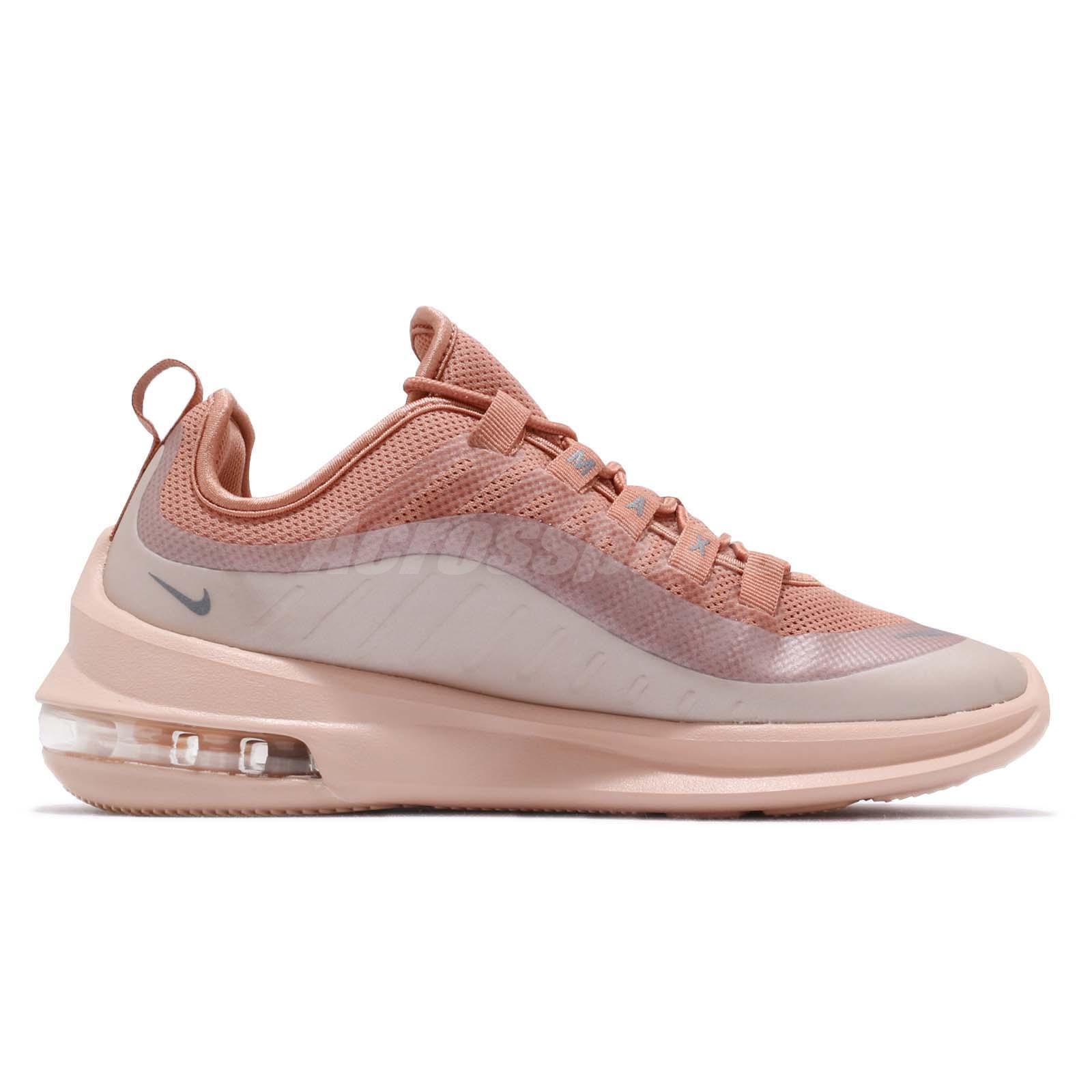 Nike Wmns Air Max Axis Terra Blush Grey Women Running Shoes Sneakers ... 27cb81dd0f348
