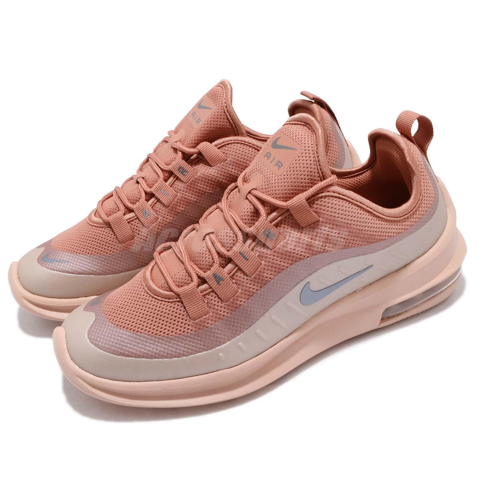 60ee9666ff Nike Wmns Air Max Axis Terra Blush Grey Women Running Shoes Sneakers ...