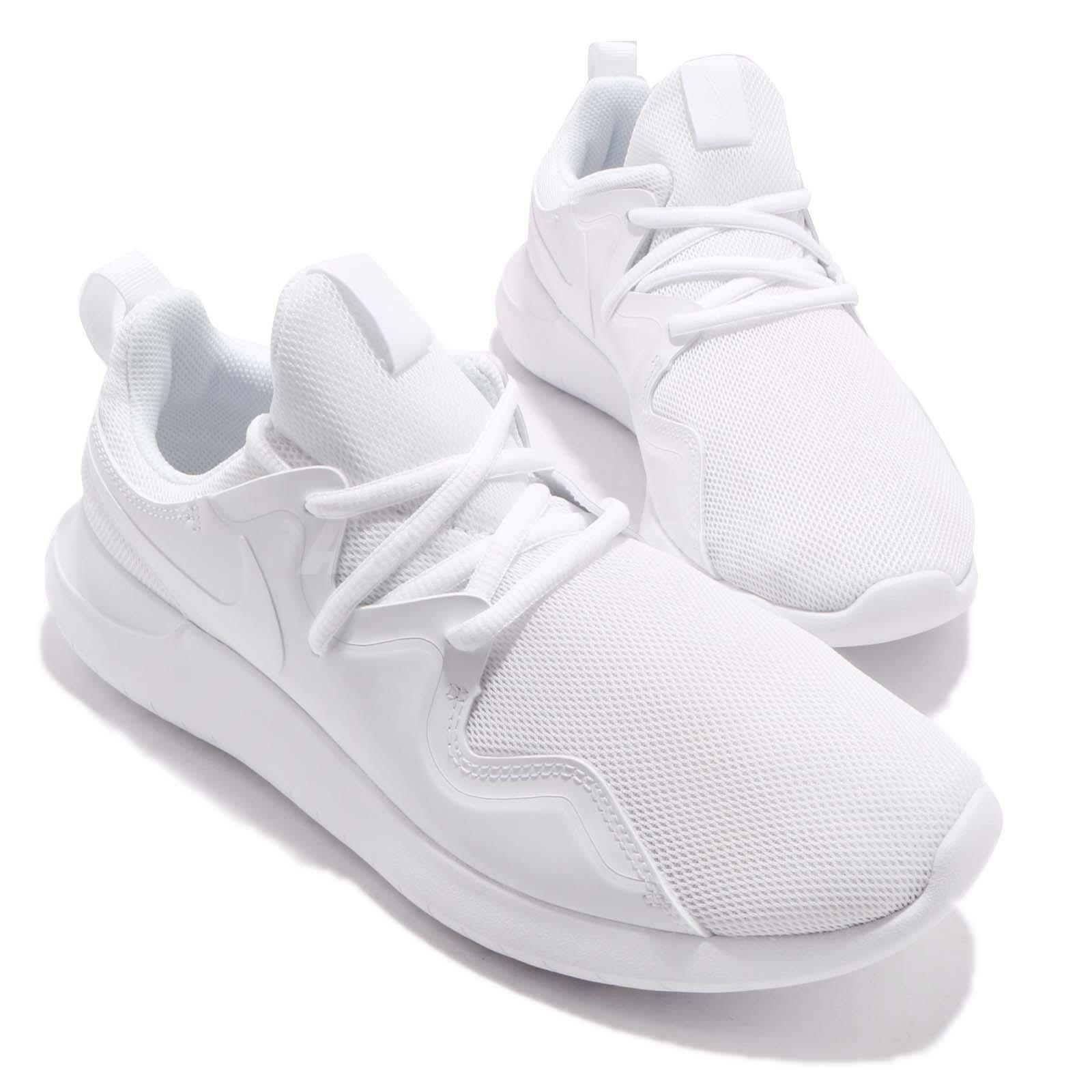 afb54928b26 Wmns Nike Tessen White Women Athletic Running Shoes Sneakers ...