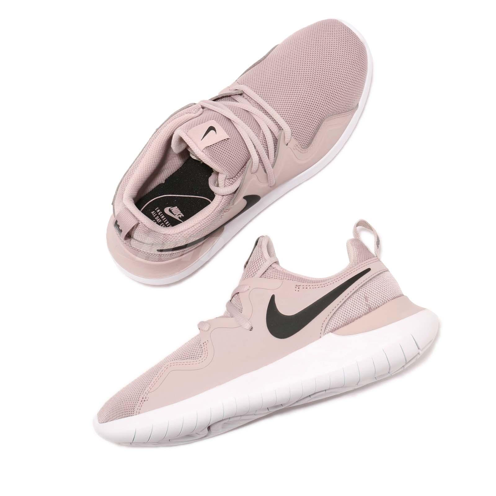 73dbcc286f69a2 Nike Wmns Tessen Particle Rose Black White Women Running Shoe ...
