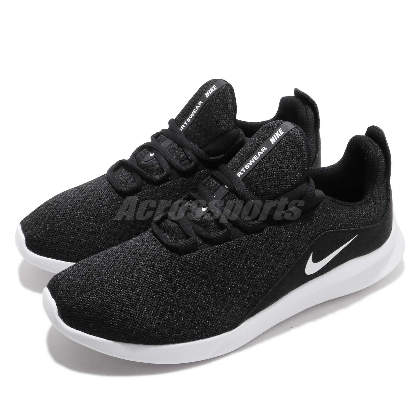 new style 71c65 a9474 Details about Nike Viale Black White Mens Running Shoes Sneakers AA2181-002