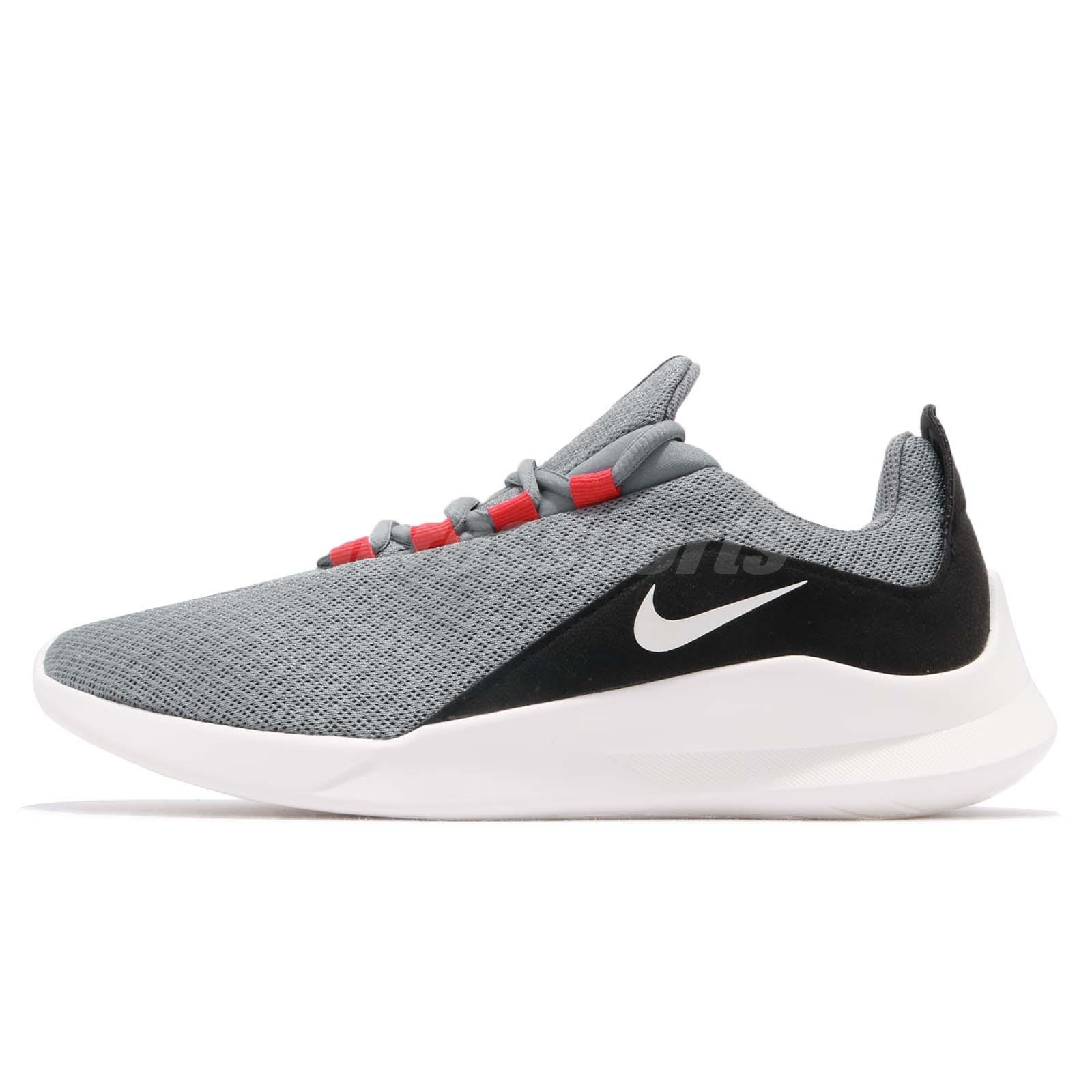 the best attitude 3fcfc 4446e Nike Viale Grey Red White Black Men Running Casual Shoes Sneakers AA2181-007