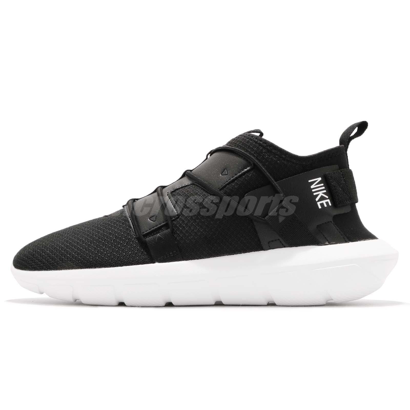 fbbc8295b3df ... Nike Vortak Black White Laceless Mens Casual Shoes Lifestyle