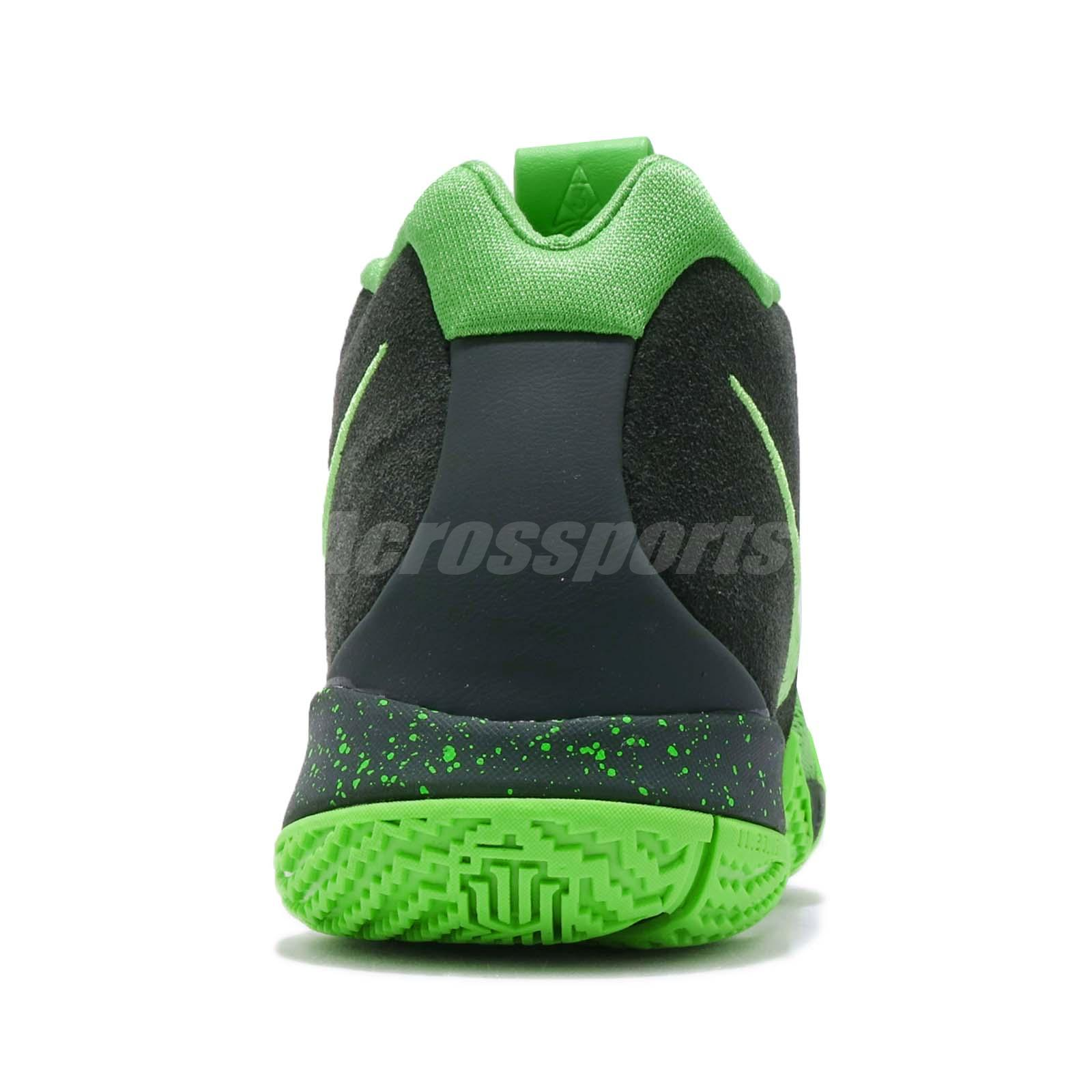 Nike Kyrie 4 GS IV Irving Spinack Green Strike Kid Youth Women Shoes ... 700a8e94bcf