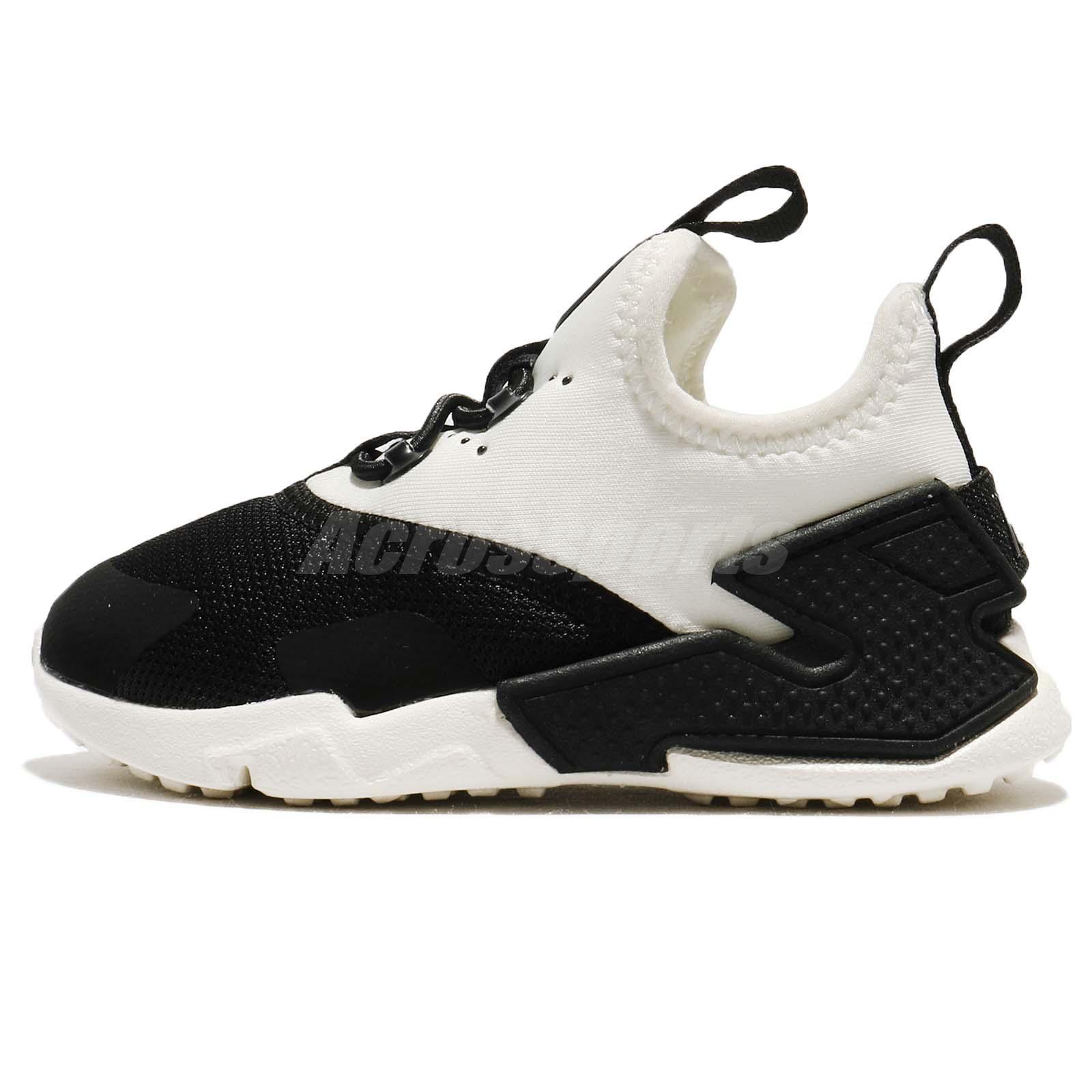 Nike Huarache Drift TDE Black Sail White Toddler Infant Baby Shoes
