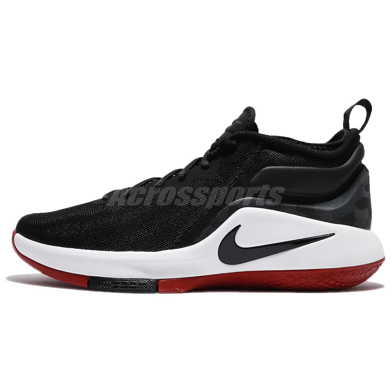 5da0f182f956 ... reduced nike lebron witness ii ep 2 james bred black red men basketball  shoe aa3820 006