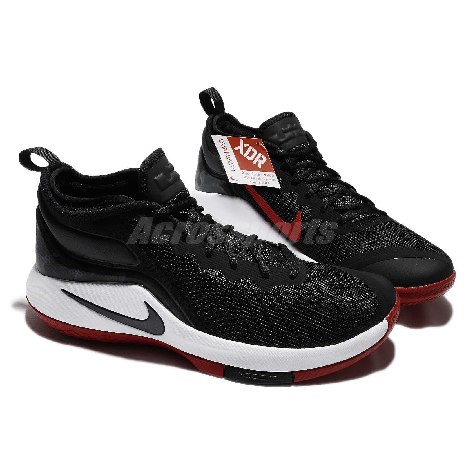 fd7a7e106843 ... switzerland nike lebron witness ii ep 2 james bred black red men  basketball shoe 21619 ee7ab