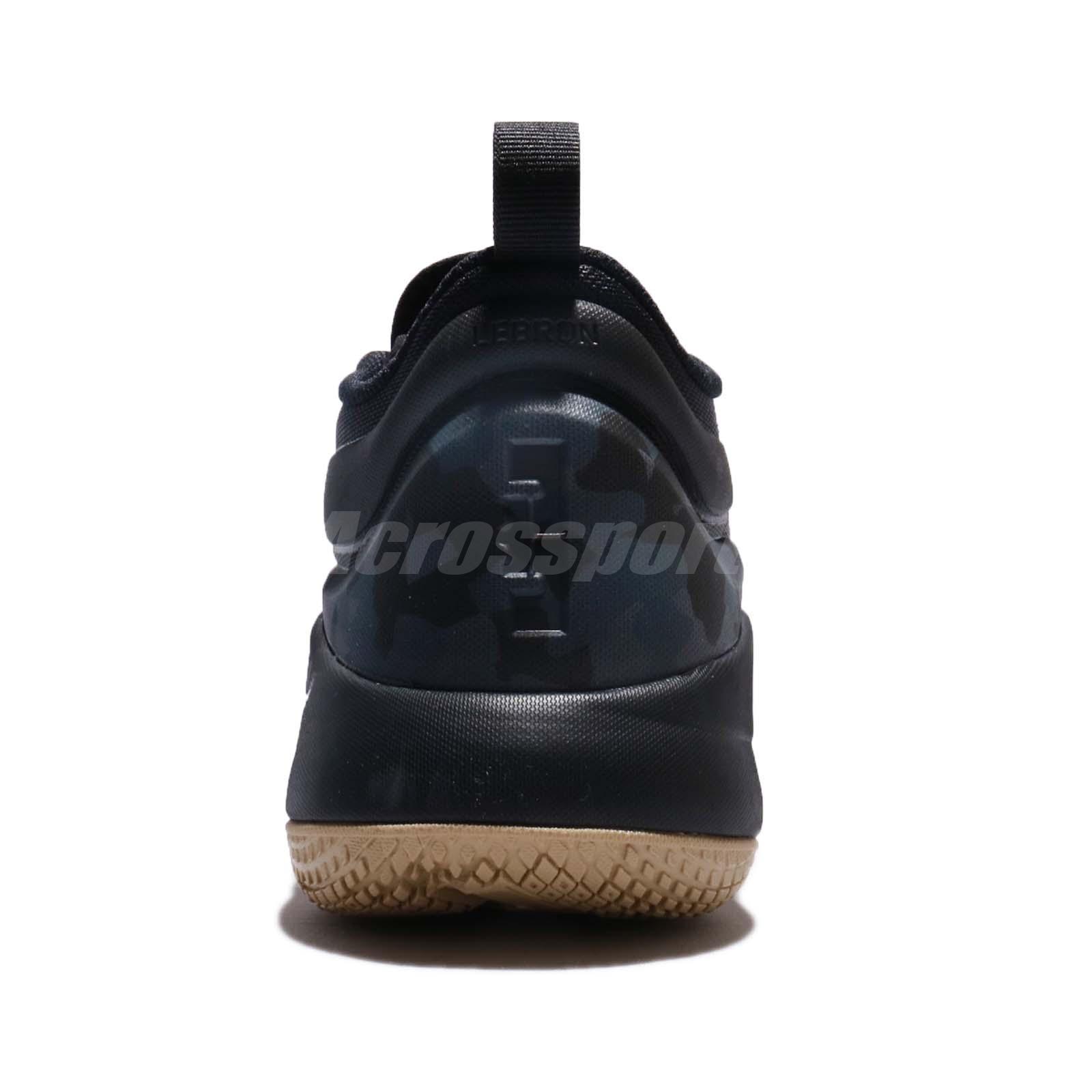 338df3c0f133b Nike Lebron Witness II EP 2 James Black Men Basketball Shoes ...