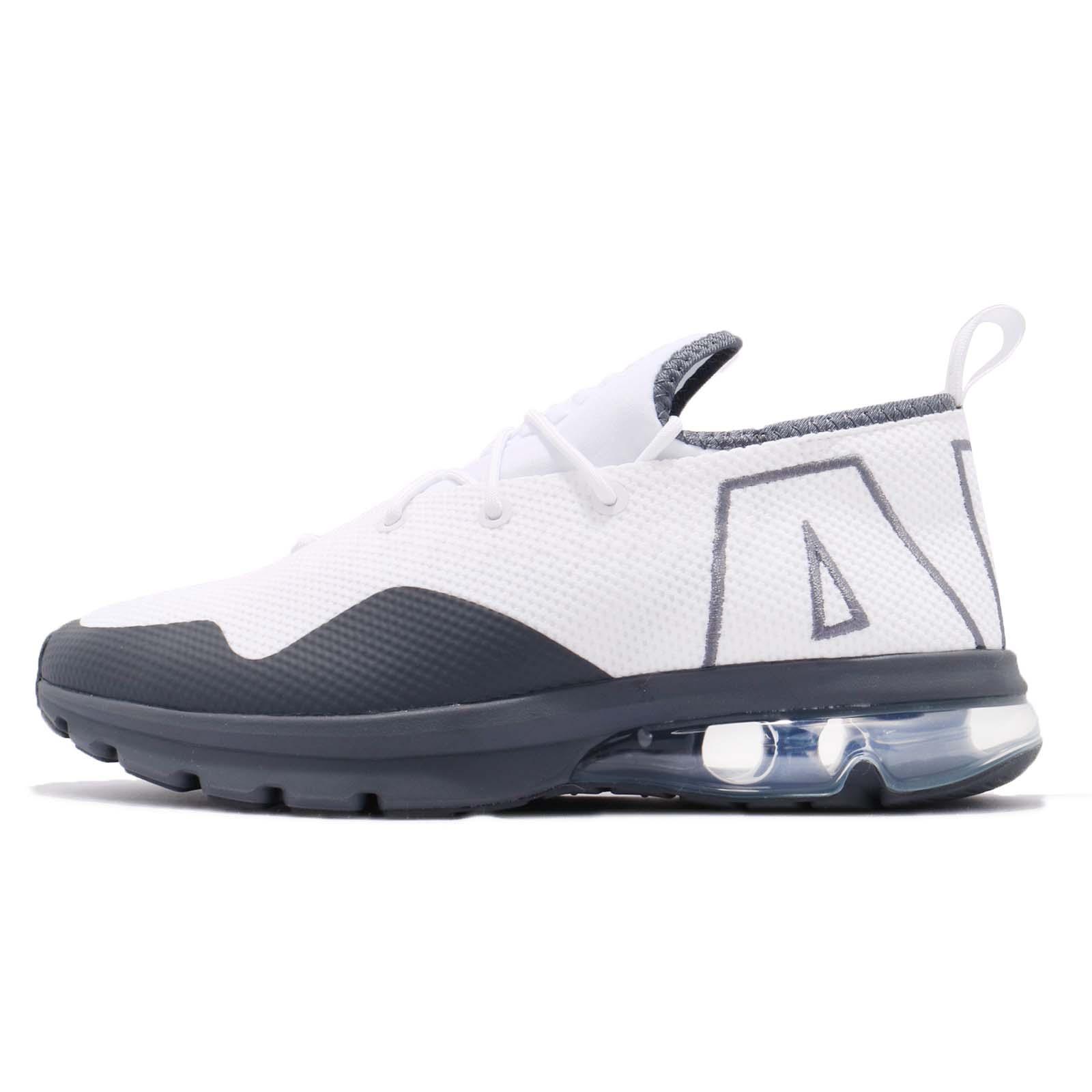 sale retailer 59311 67f05 Nike Air Max Flair 50 White Dark Silver Men Running Shoes Sneakers AA3824- 100