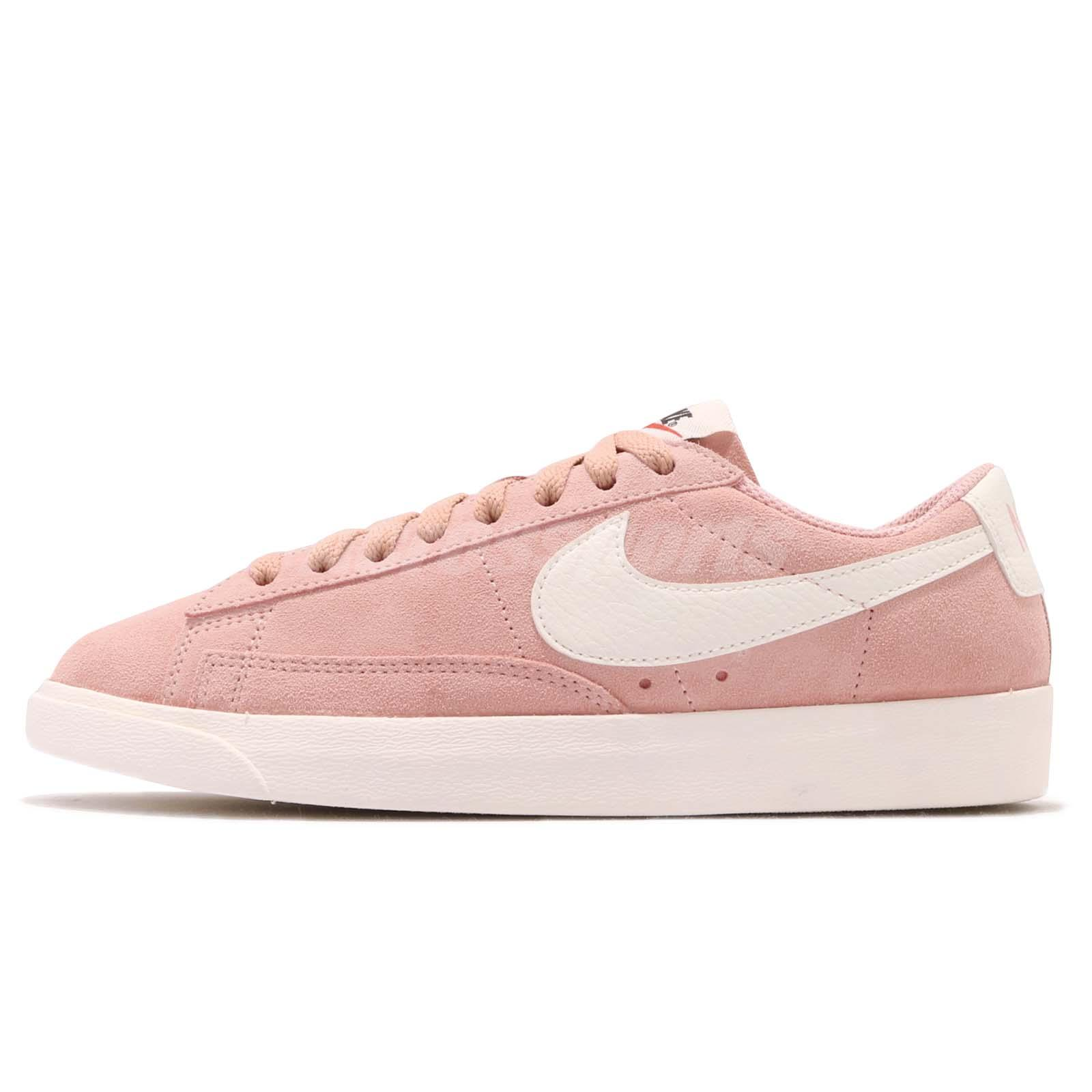best cheap cf188 86df6 Nike Wmns Blazer Low SD Suede Coral Stardust Sail Women Classic Shoes AA3962 -605
