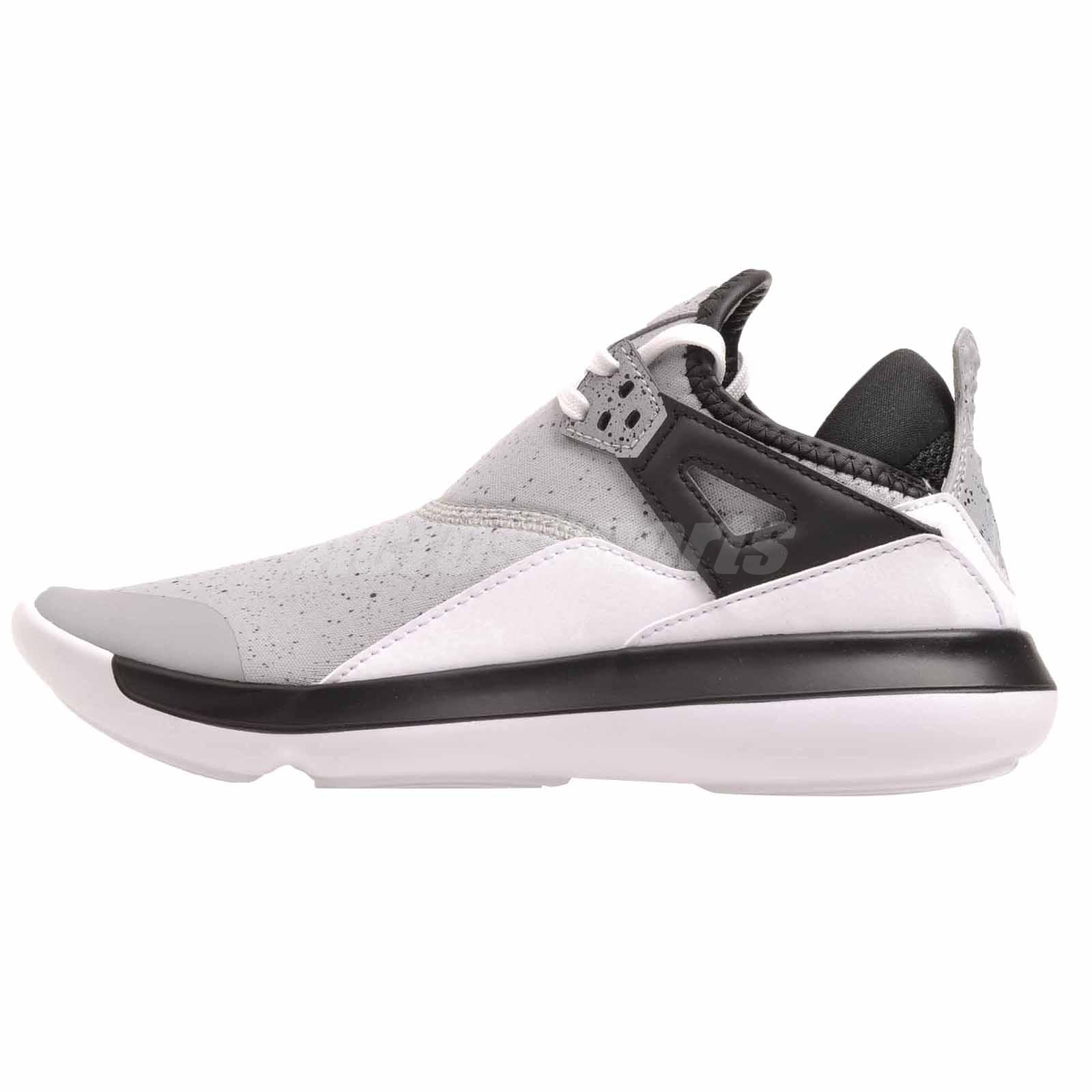Nike Jordan Fly 89 BG Basketball Kids Youth Shoes Grey Air AA4039-013