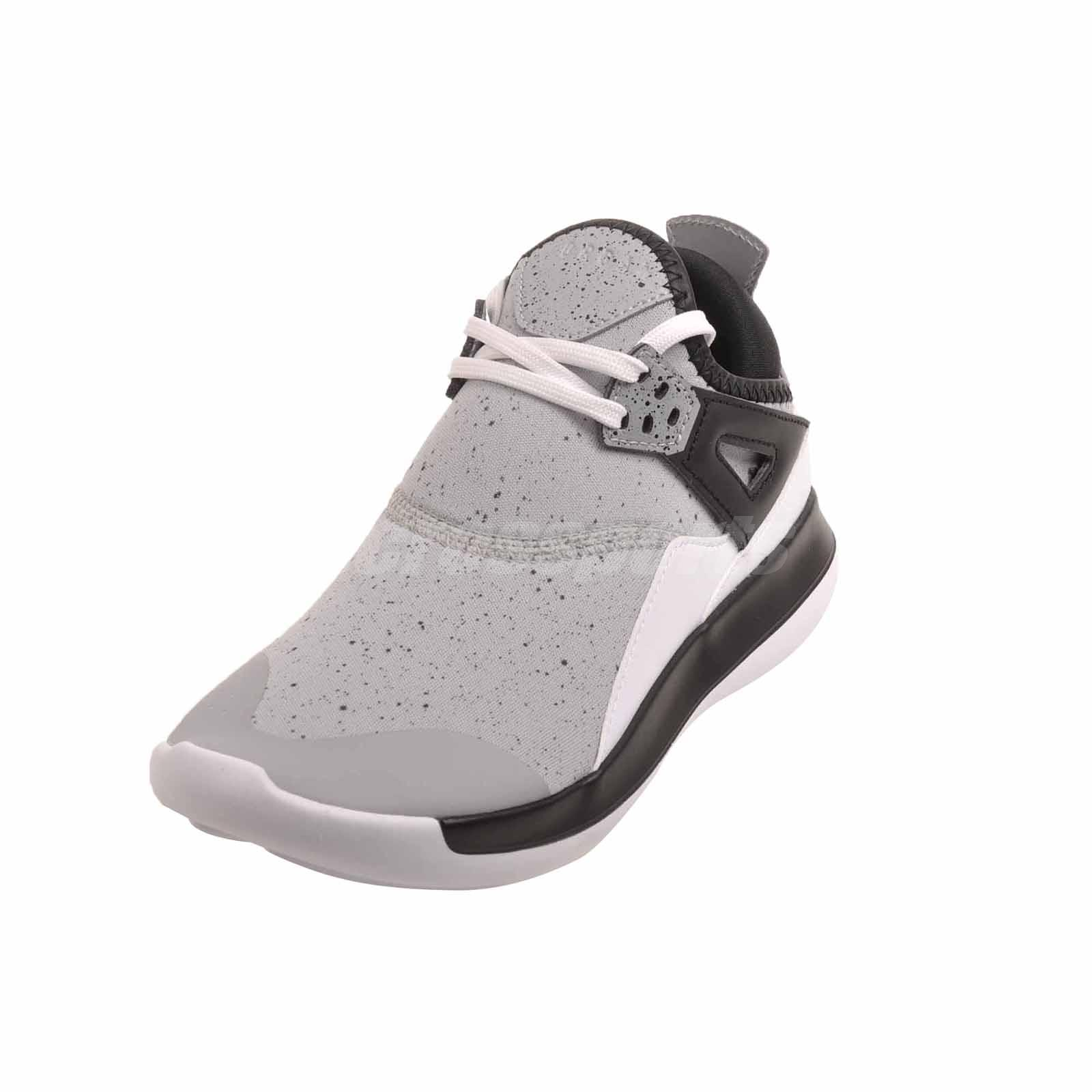 0b251fe4b23 Nike Jordan Fly 89 BG Basketball Kids Youth Shoes Grey Air AA4039 ...