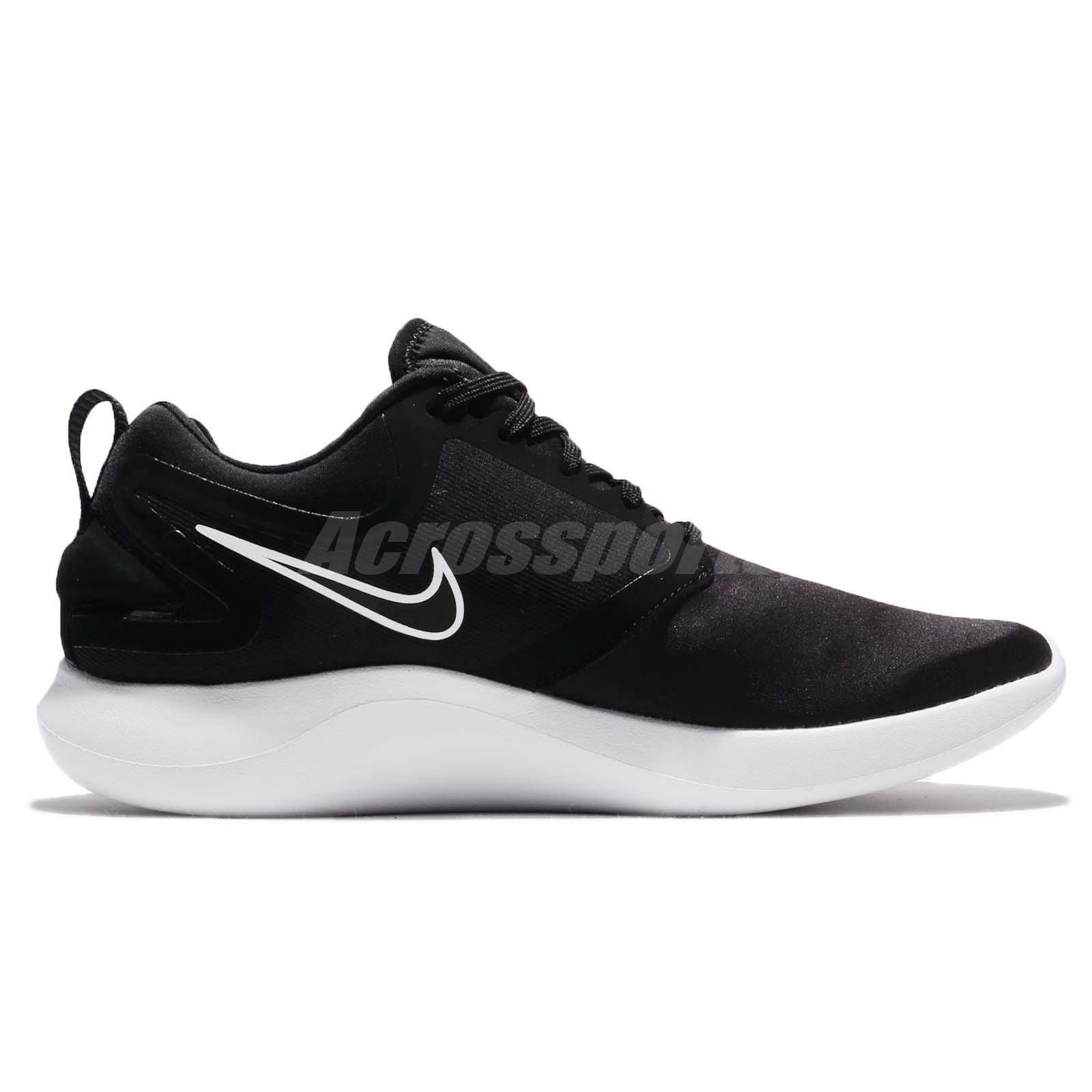 1b0923ca6dc30 Nike Lunarsolo Black White Men Running Shoes Sneakers Trainers ...