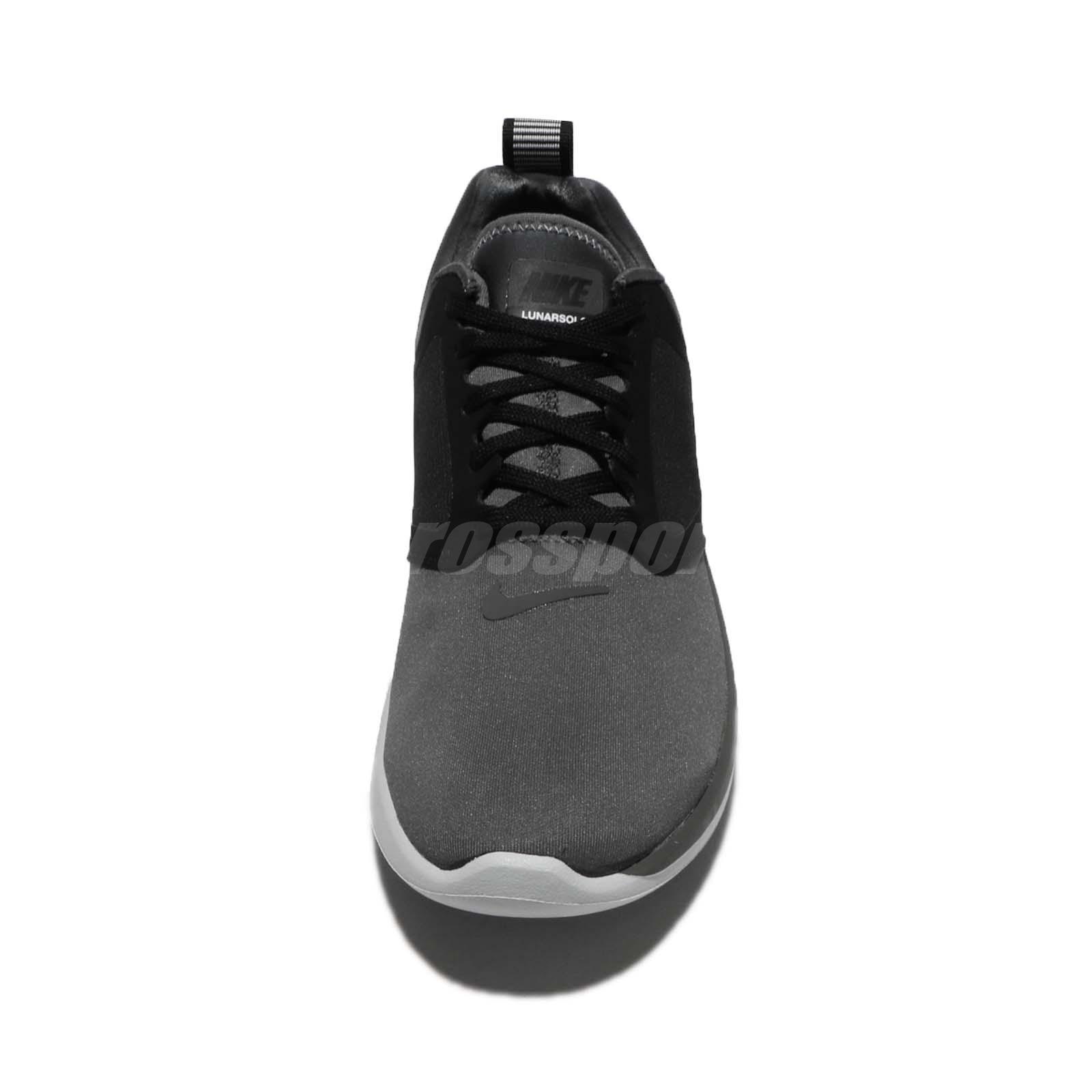 buy popular b311e 187c0 Wmns Nike Lunarsolo Dark Grey Black Women Running Shoes Sneakers ...