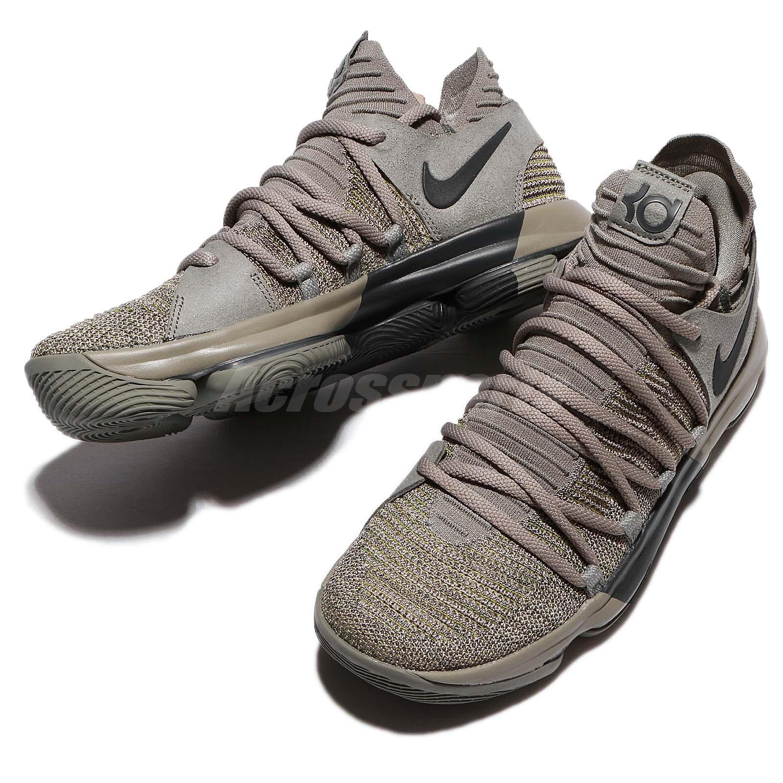 f1418abbaaae ... STUCCOANTHRACITE Nike Zoom KD 10 LMTD EP X Durant Dark Stucco Veterans  Day Me ...