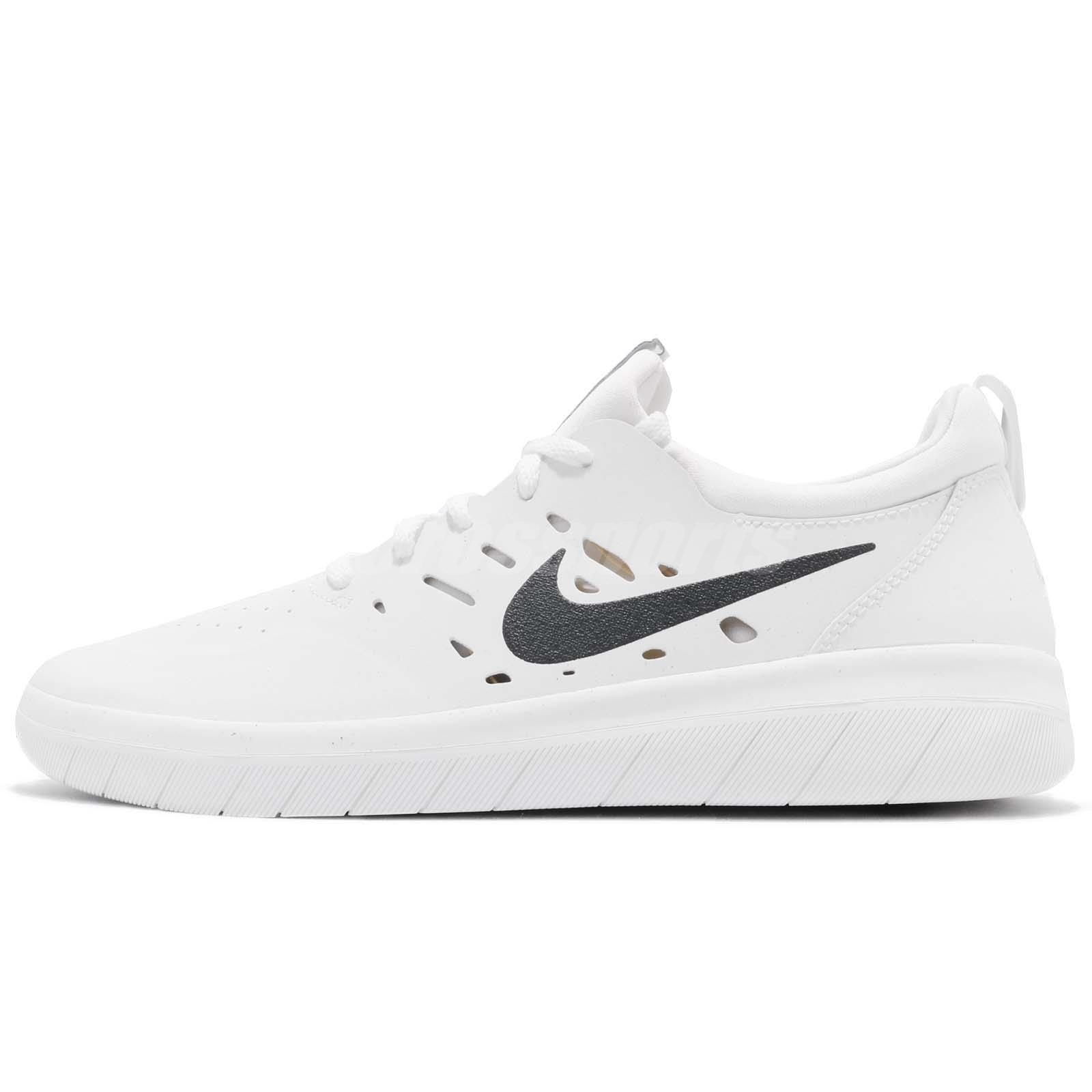 6a11daf645c51 Nike SB Nyjah Free Huston White Til Death Men Skateboarding Shoes AA4272-100