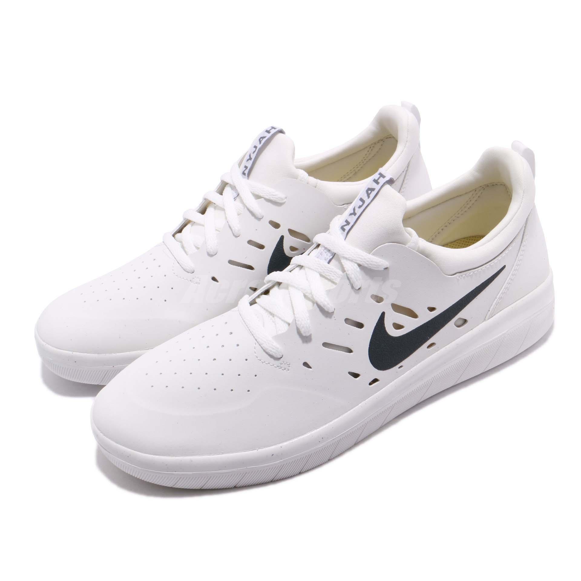 29b3a33dd94ed Nike SB Nyjah Free Huston White Til Death Men Skateboarding Shoes ...
