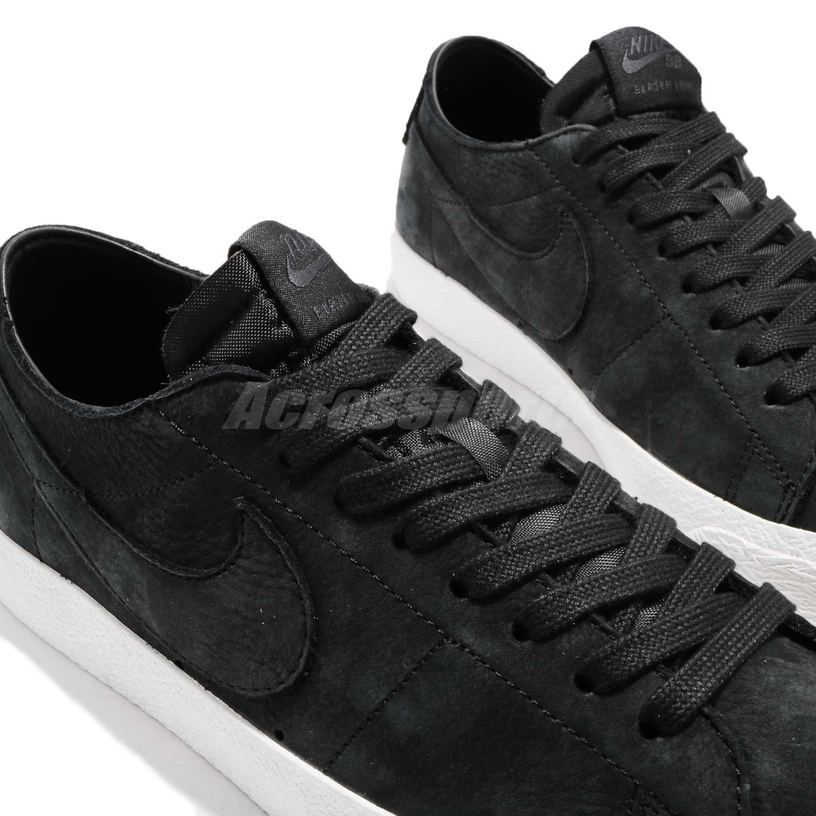 detailed look bb7a5 cbb2d Nike SB Zoom Blazer Low Decon Black Anthracite Men Skate Boarding ...