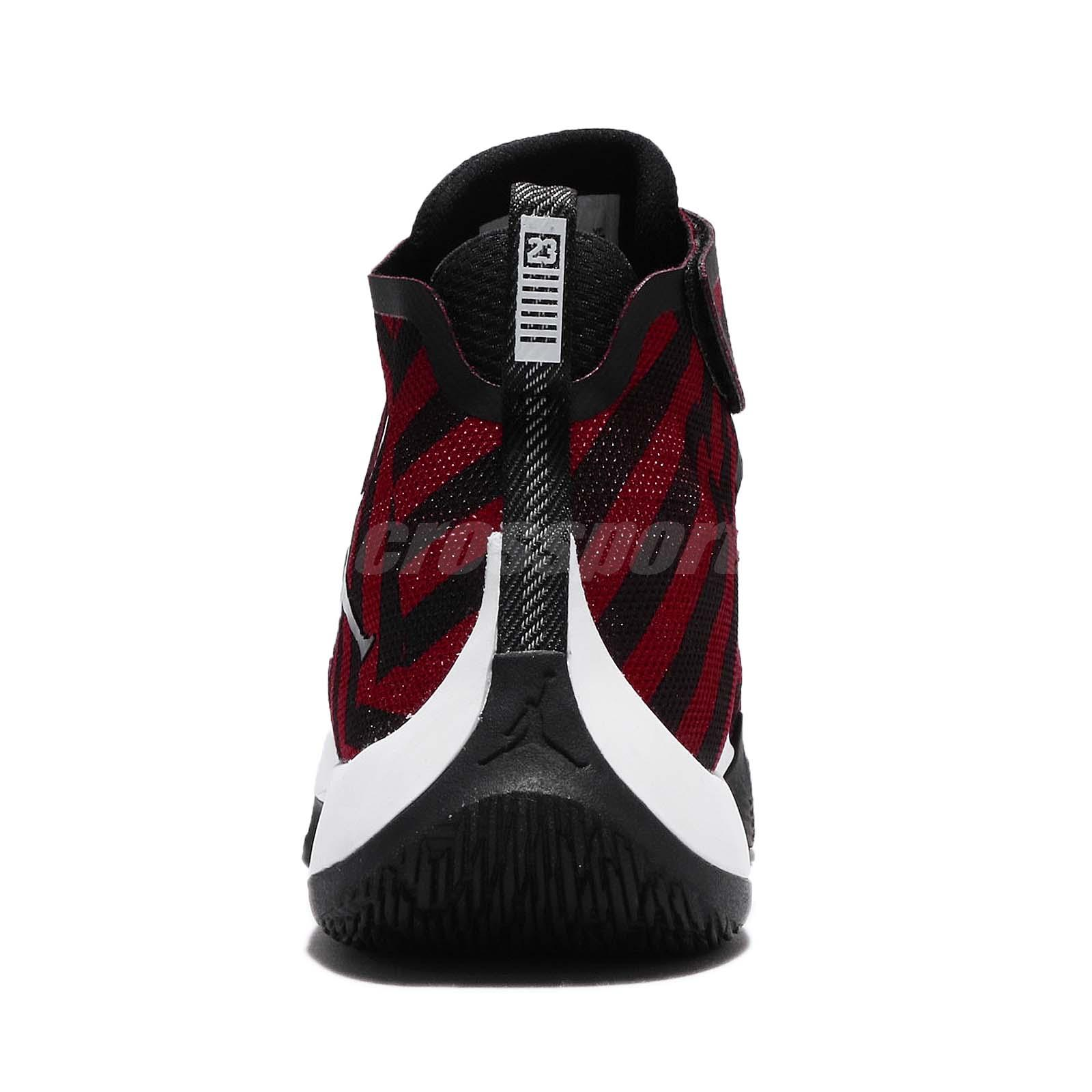 7daf55fb9d67fe Nike Jordan Fly Unlimited PFX Gym Red Black Men Basketball Shoes ...