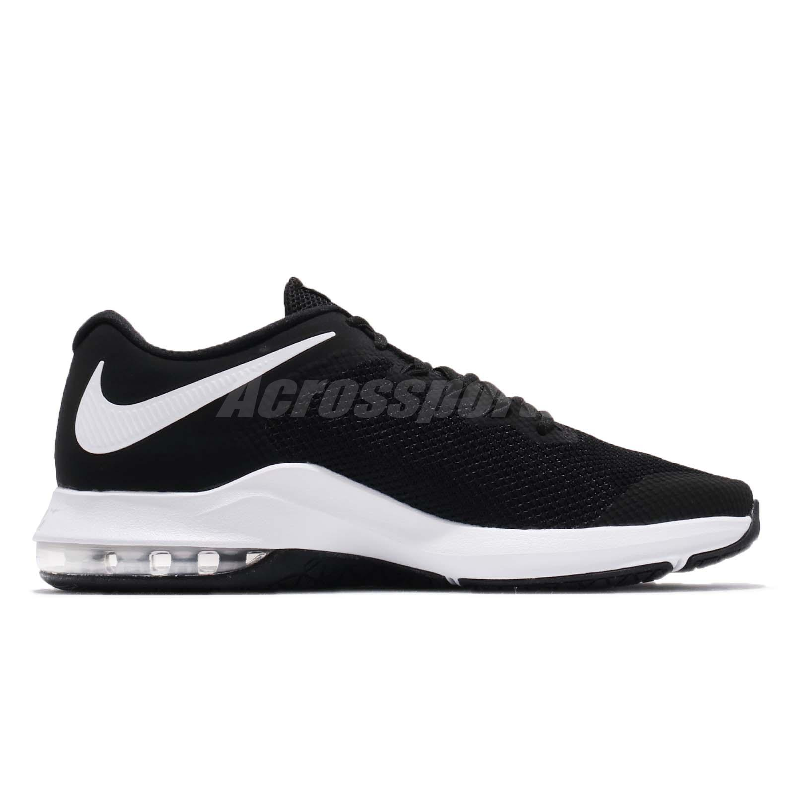 3aa61b385ae8 Nike Air Max Alpha Trainer Black White Men Cross Training Shoes ...