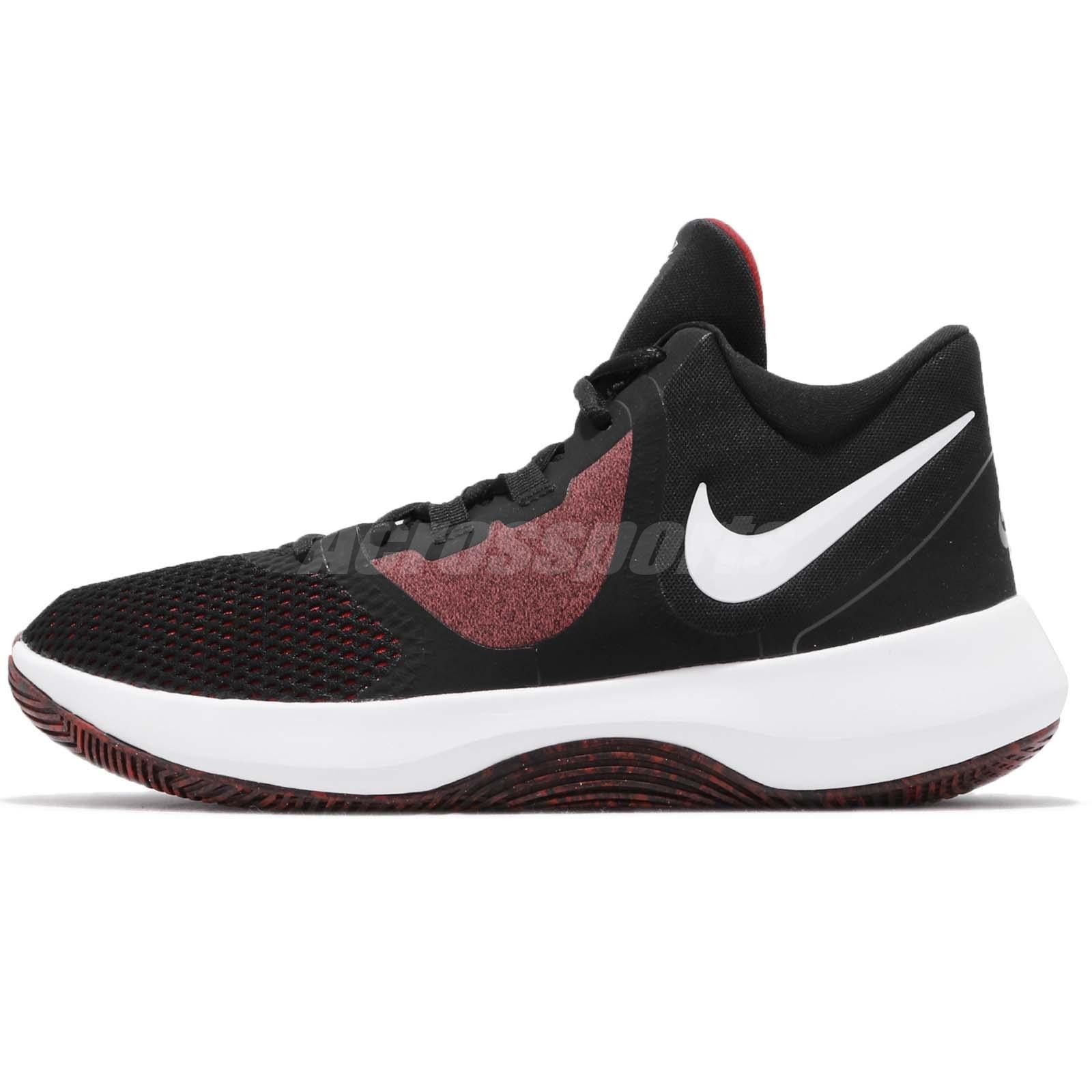 779c67b8b36 Nike Air Precision II 2 Black White Red Men Basketball Shoes Sneakers AA7069 -006