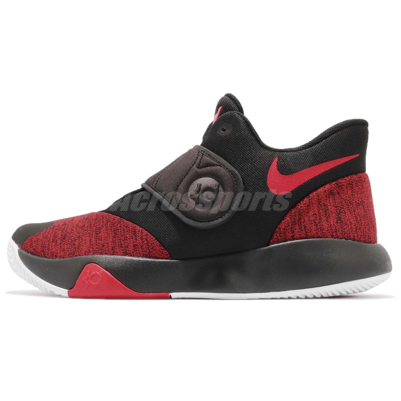 f4fdb1656a49 Nike KD Trey 5 VI EP 6 Kevin Durant Black Red Men Basketball Shoes  AA7070-006
