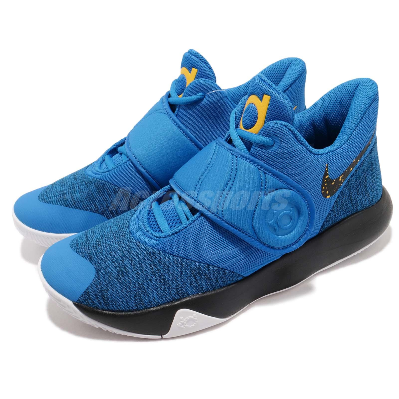 kd trey 5 ii blue Kevin Durant shoes on