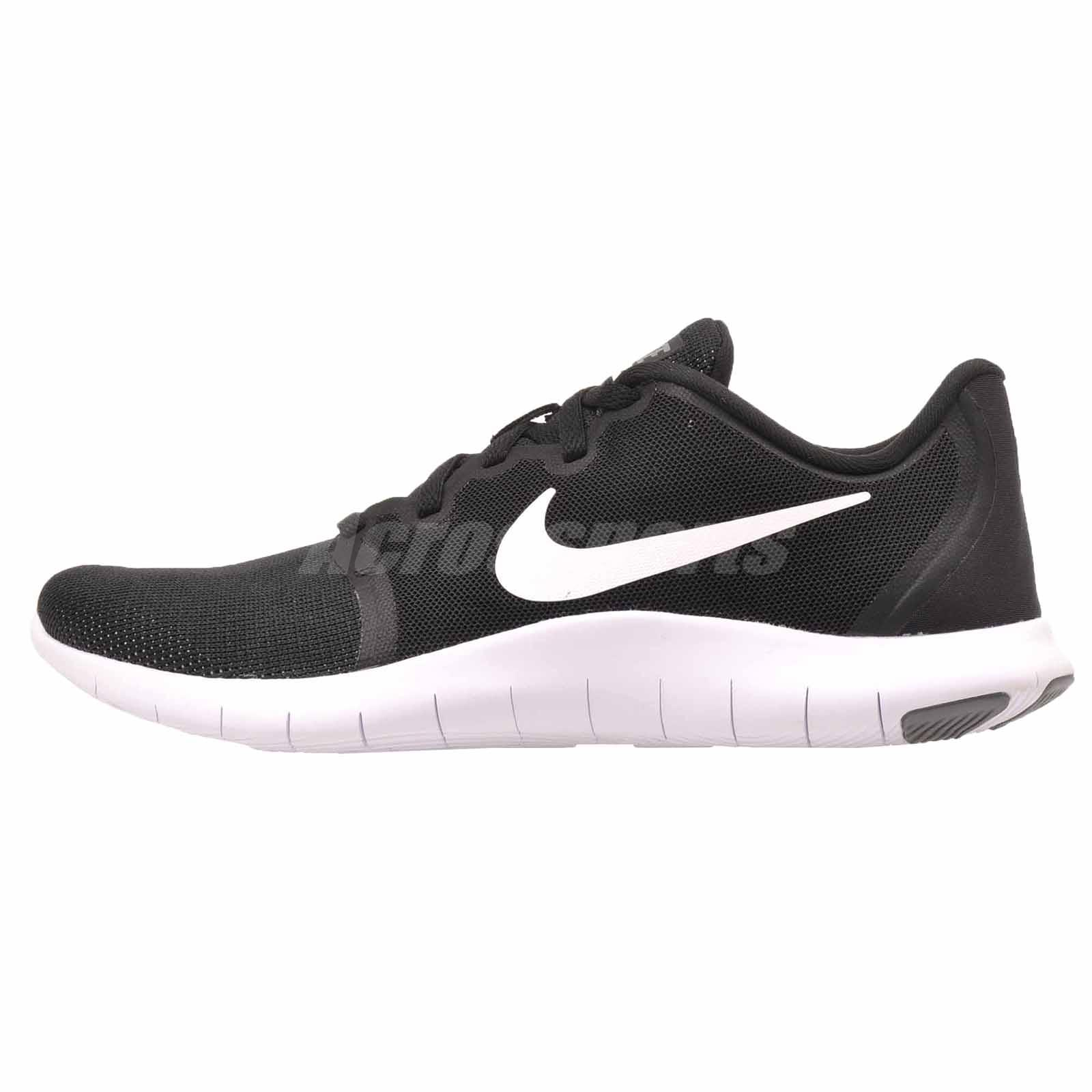 1e9cf67a0303 Details about Nike Wmns Flex Contact 2 Running Training Womens Shoes Black  White AA7409-001